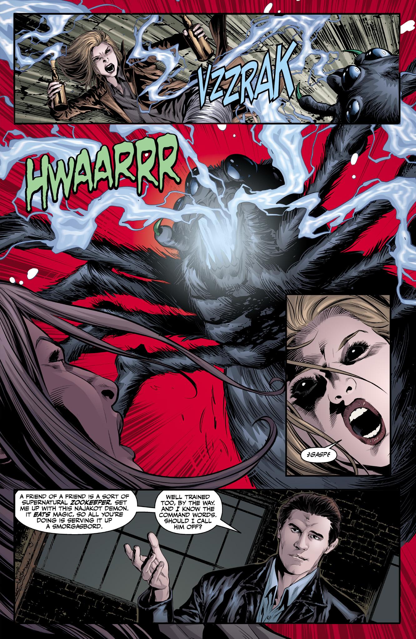 Read online Angel & Faith Season 10 comic -  Issue #9 - 21