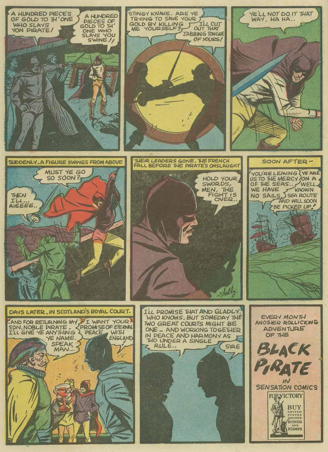 Read online Sensation (Mystery) Comics comic -  Issue #9 - 24