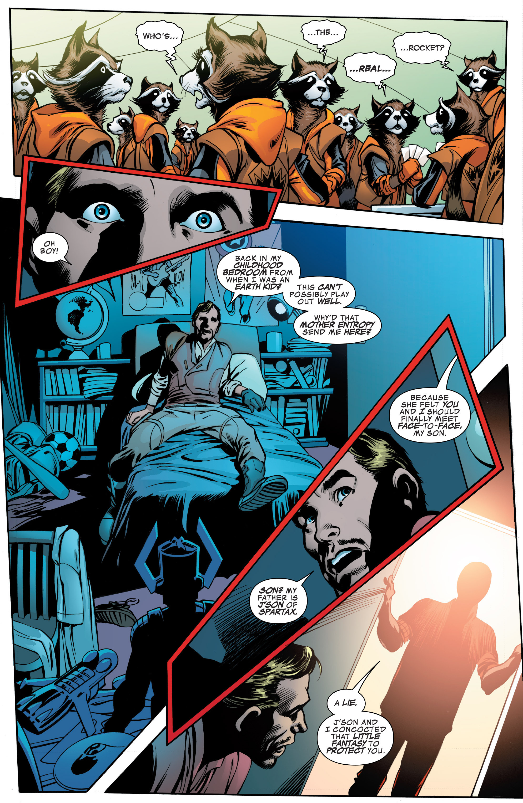 Read online Guardians of the Galaxy: Mother Entropy comic -  Issue #2 - 12