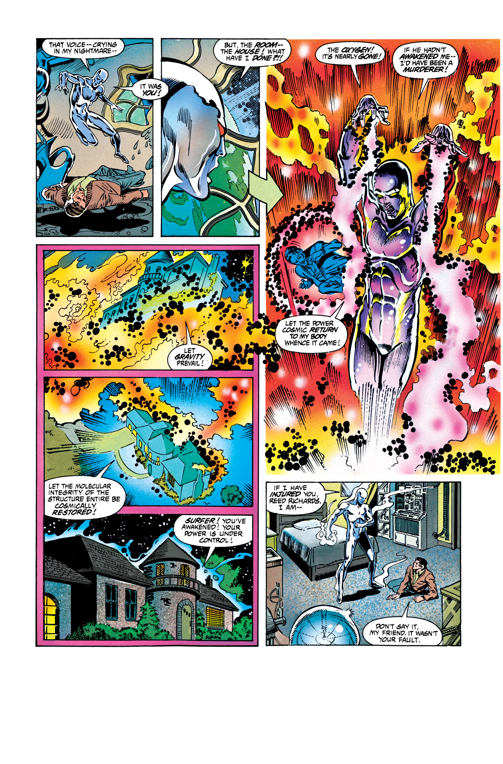 Read online Silver Surfer: Parable comic -  Issue # TPB - 71