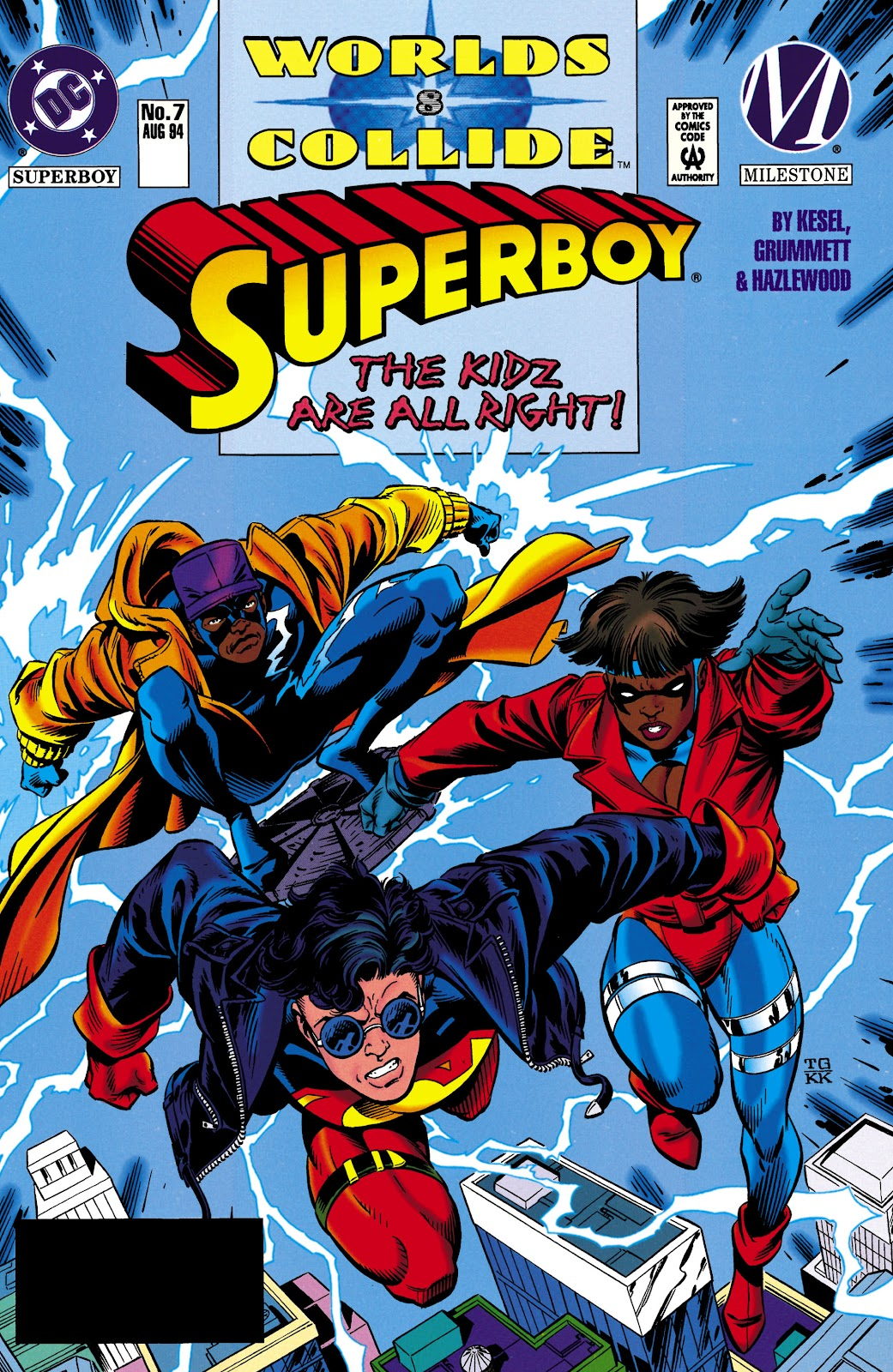 Superboy (1994) 7 Page 1
