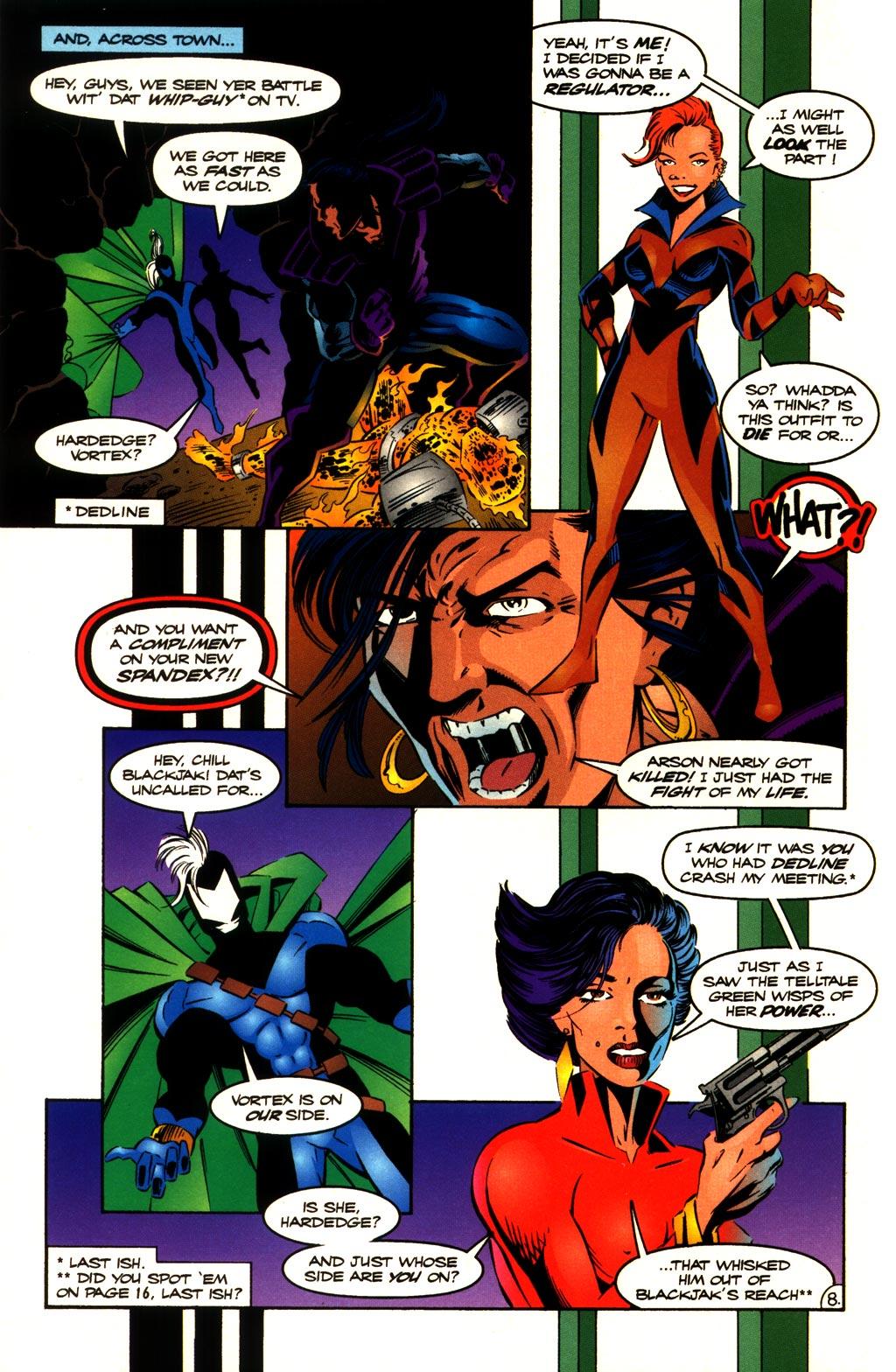 Read online ShadowHawk comic -  Issue #10 - 10