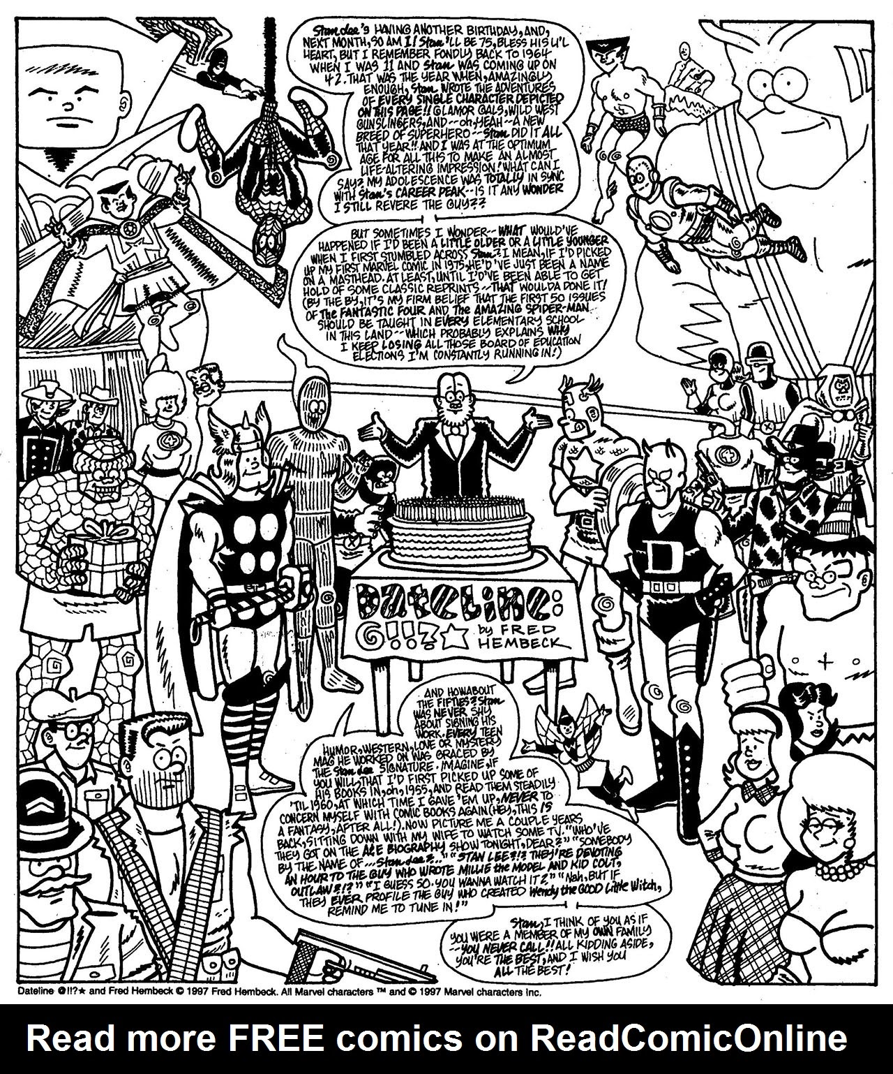 Read online The Nearly Complete Essential Hembeck Archives Omnibus comic -  Issue # TPB (Part 7) - 37