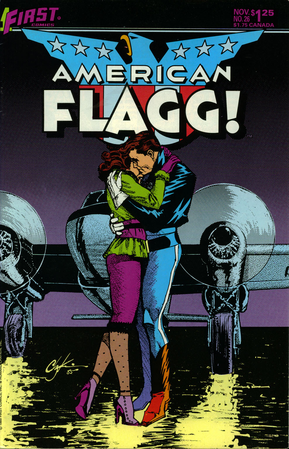 Read online American Flagg! comic -  Issue #26 - 1