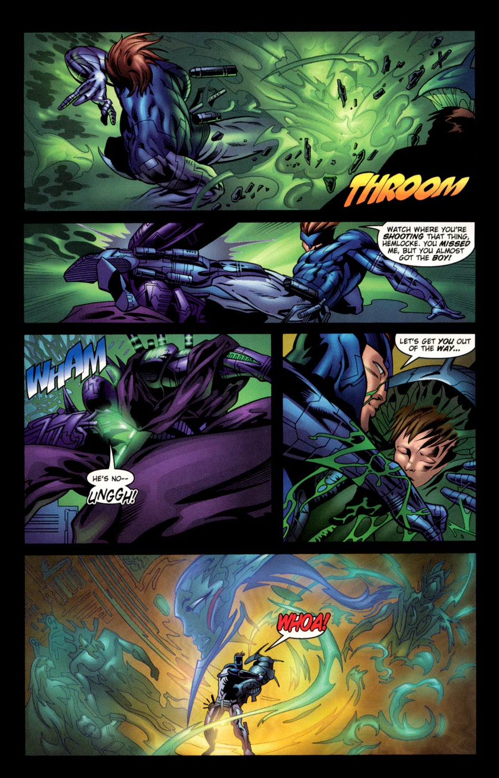 Read online C-23 comic -  Issue #3 - 8