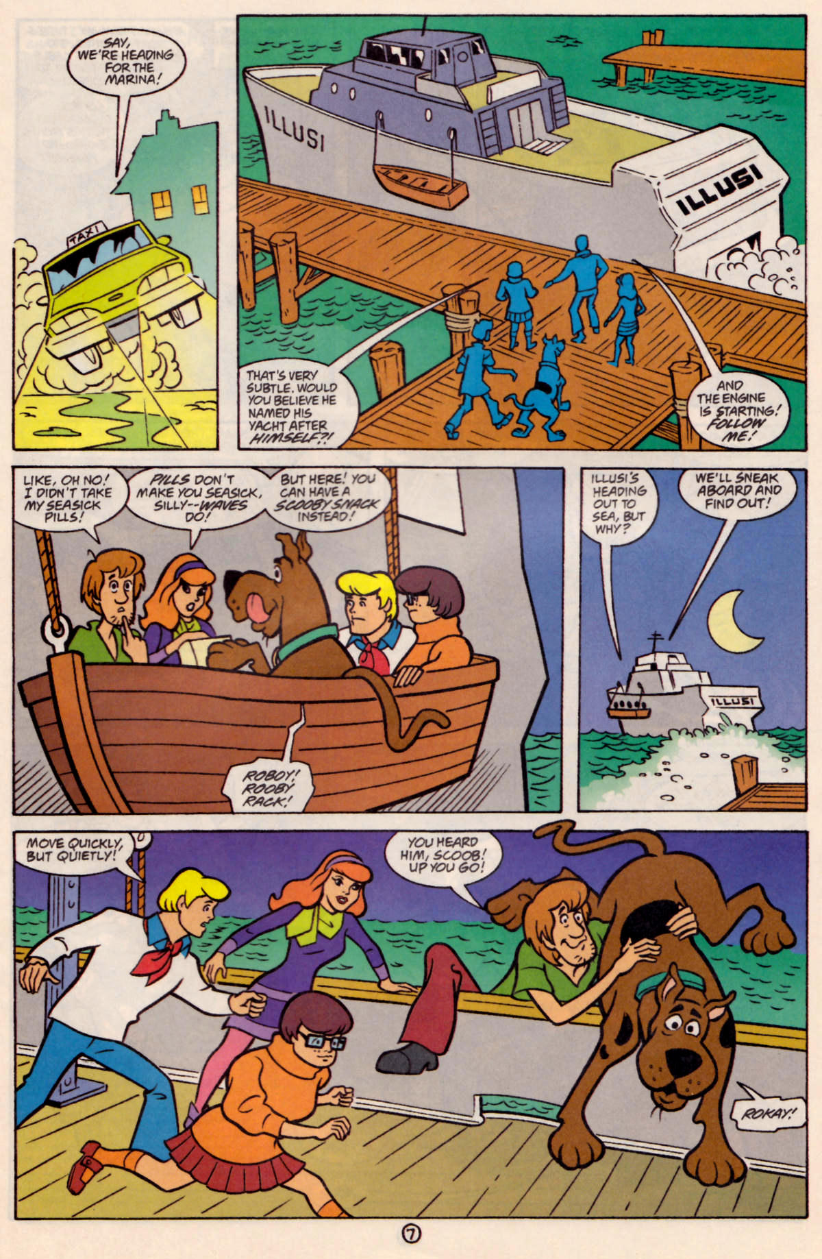 Read online Scooby-Doo (1997) comic -  Issue #24 - 8