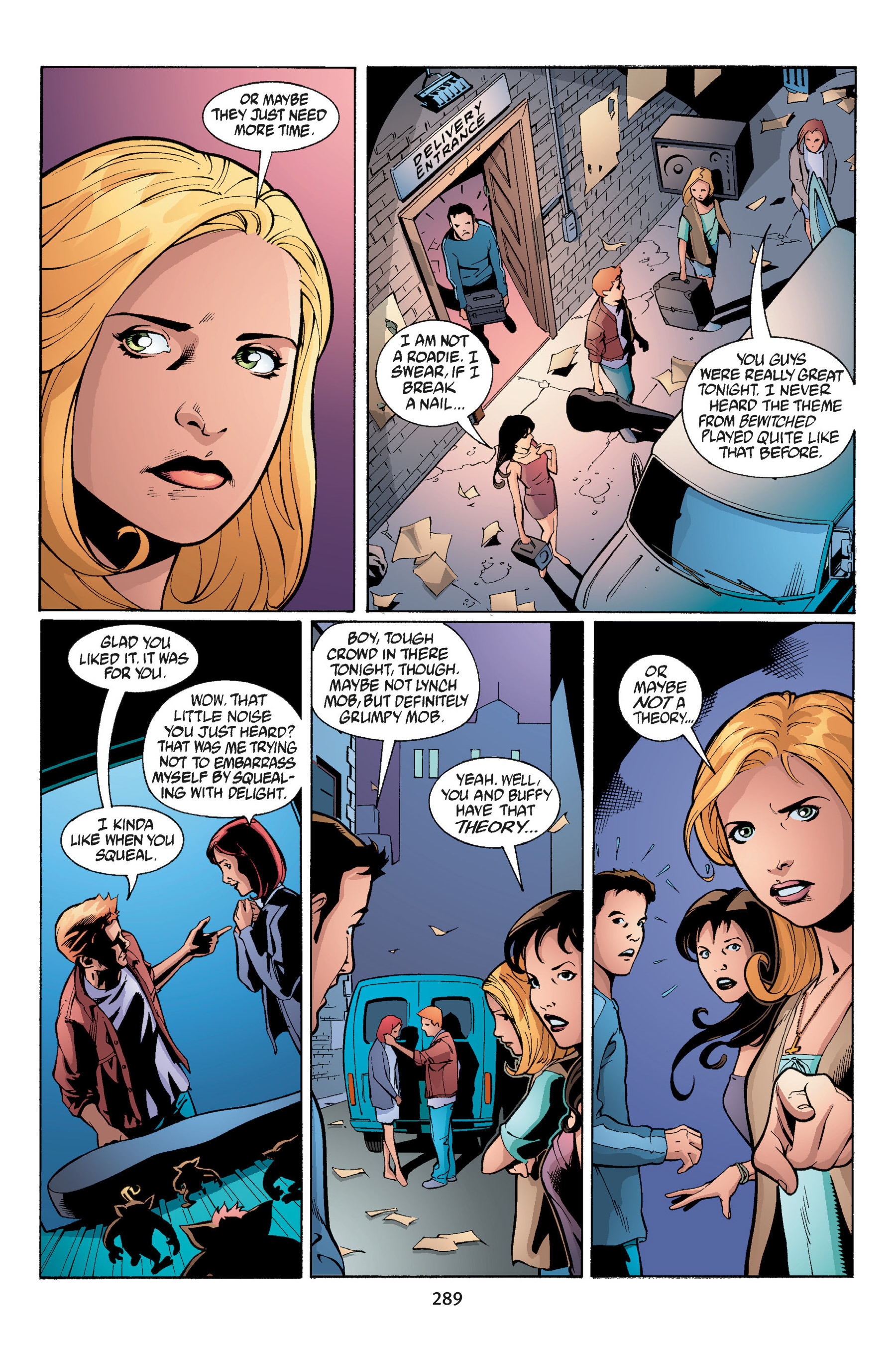 Read online Buffy the Vampire Slayer: Omnibus comic -  Issue # TPB 3 - 279