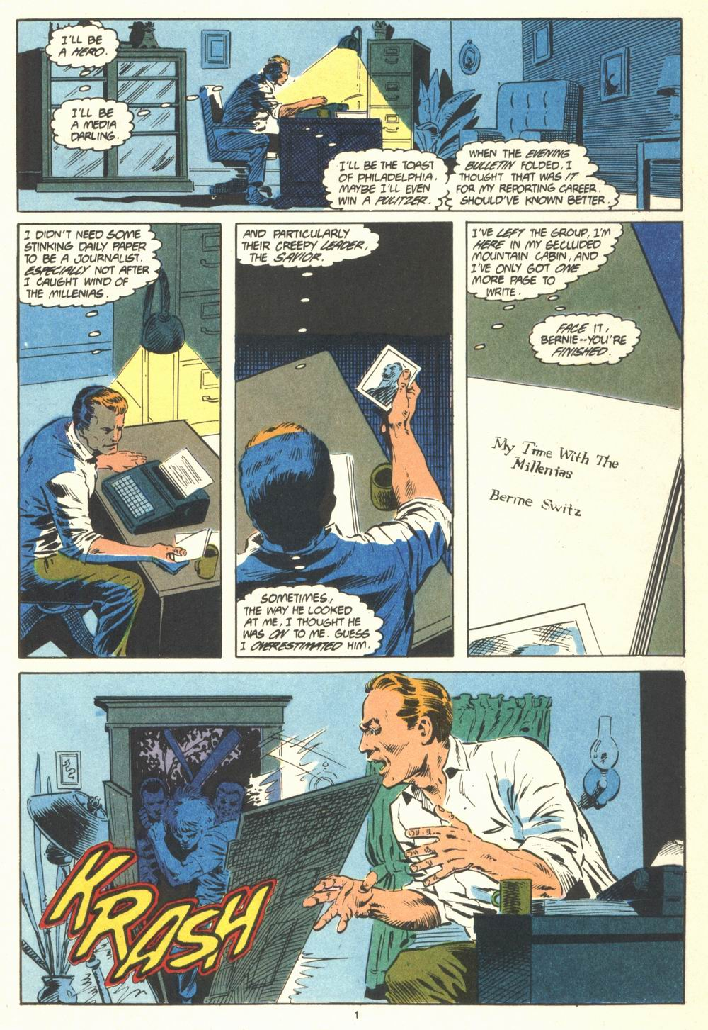 Read online Justice (1986) comic -  Issue #19 - 3