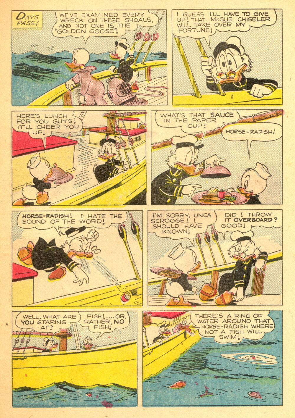 Read online Uncle Scrooge (1953) comic -  Issue #3 - 11