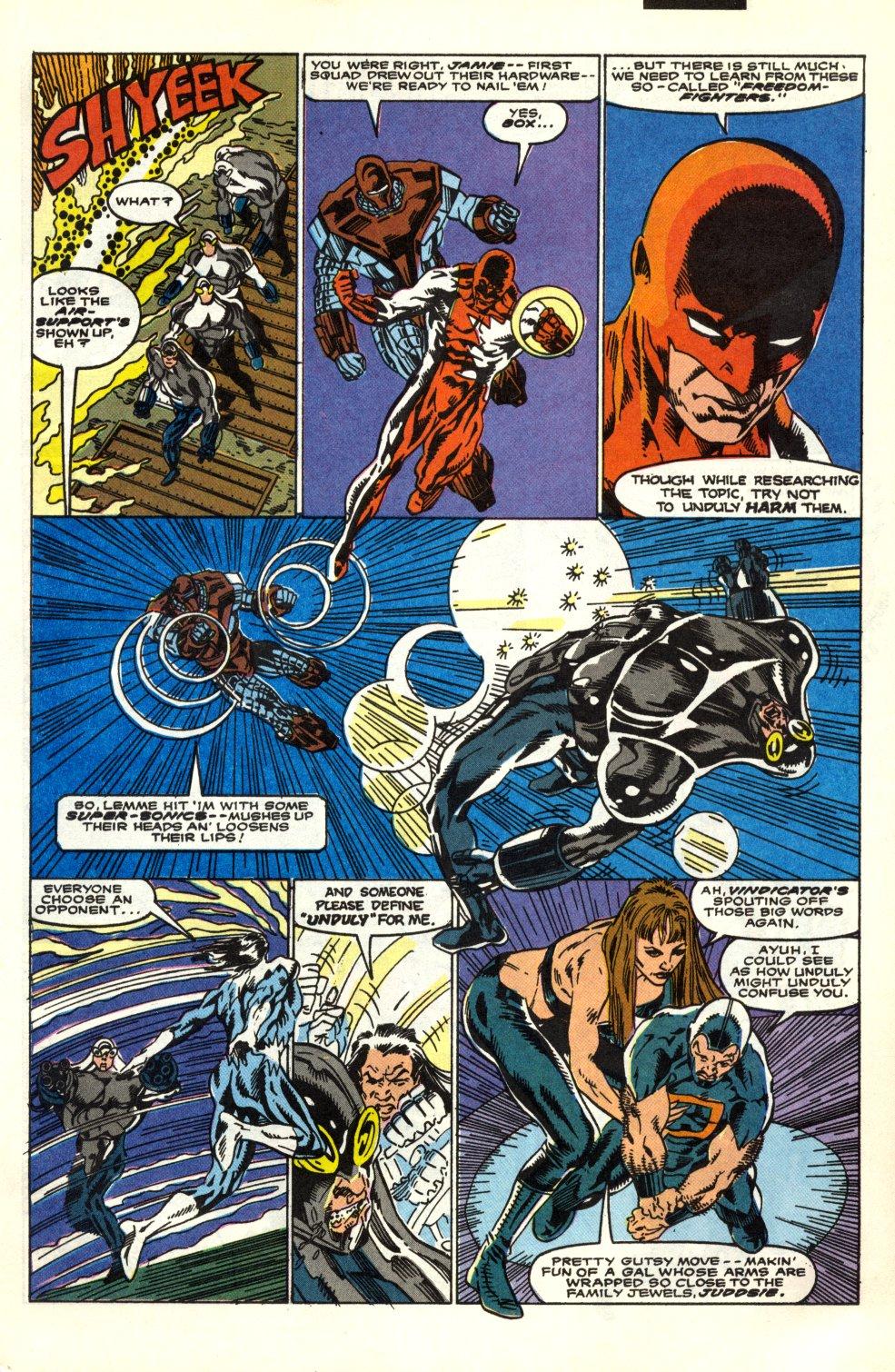 Read online Alpha Flight (1983) comic -  Issue #91 - 4