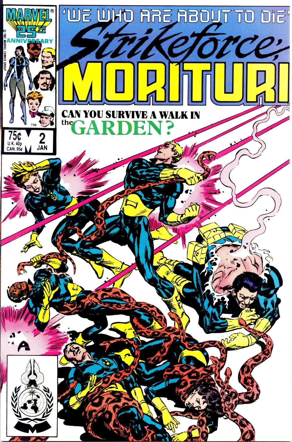 Strikeforce: Morituri 2 Page 1