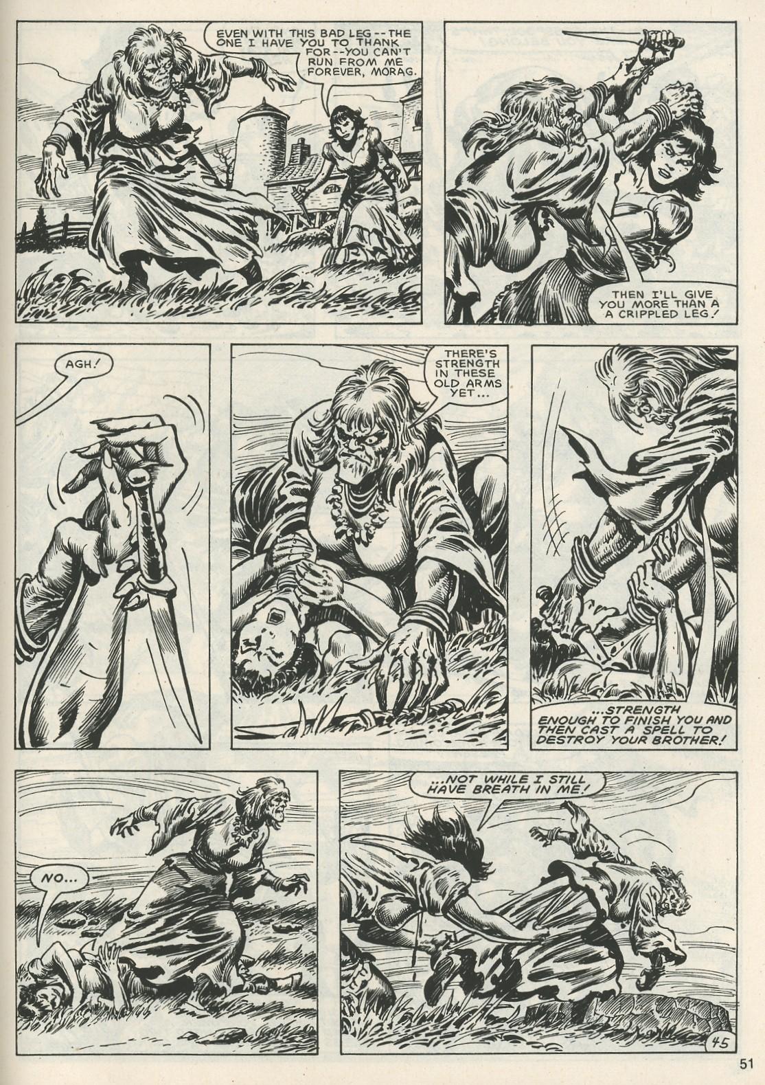 Comic The Savage Sword Of Conan issue 120