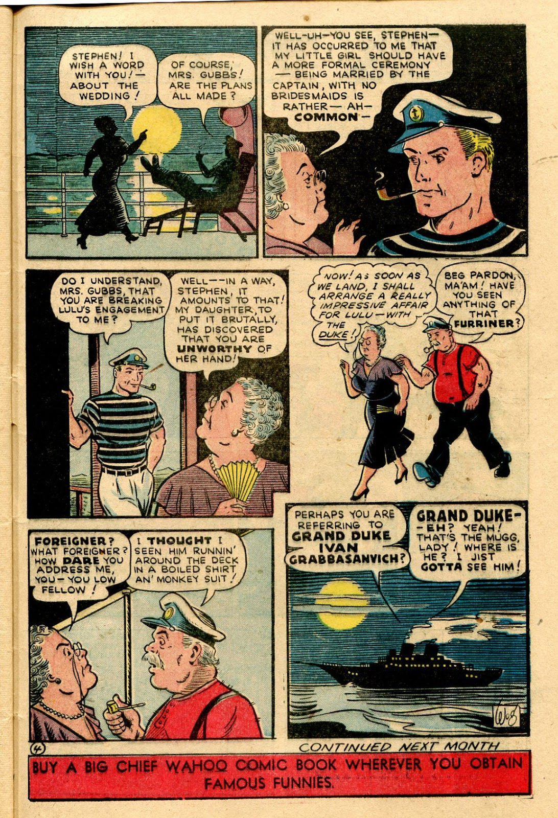 Read online Famous Funnies comic -  Issue #116 - 47