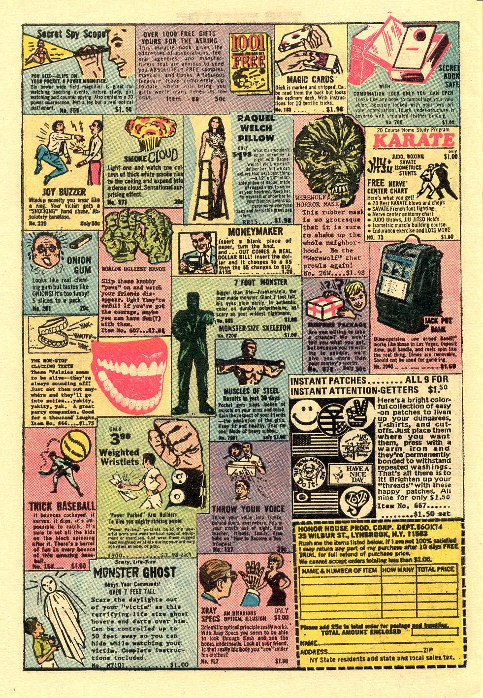 Read online Secret Origins (1973) comic -  Issue #5 - 30