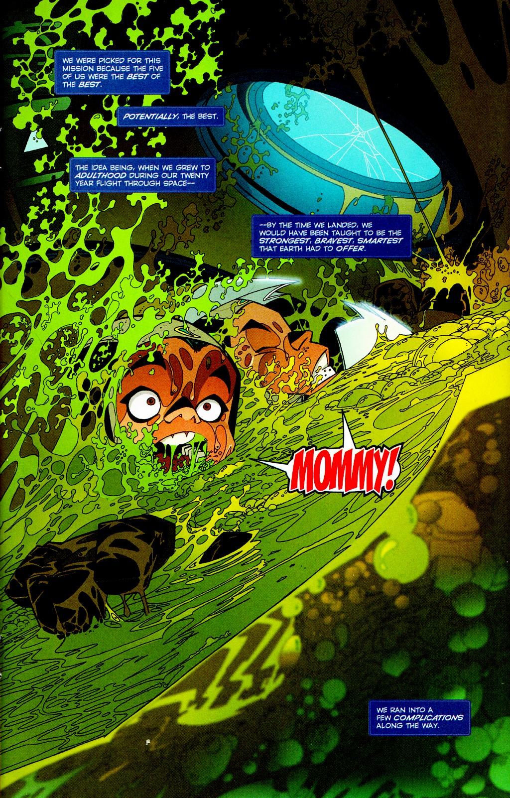 Read online Monster World (Existed) comic -  Issue #2 - 2
