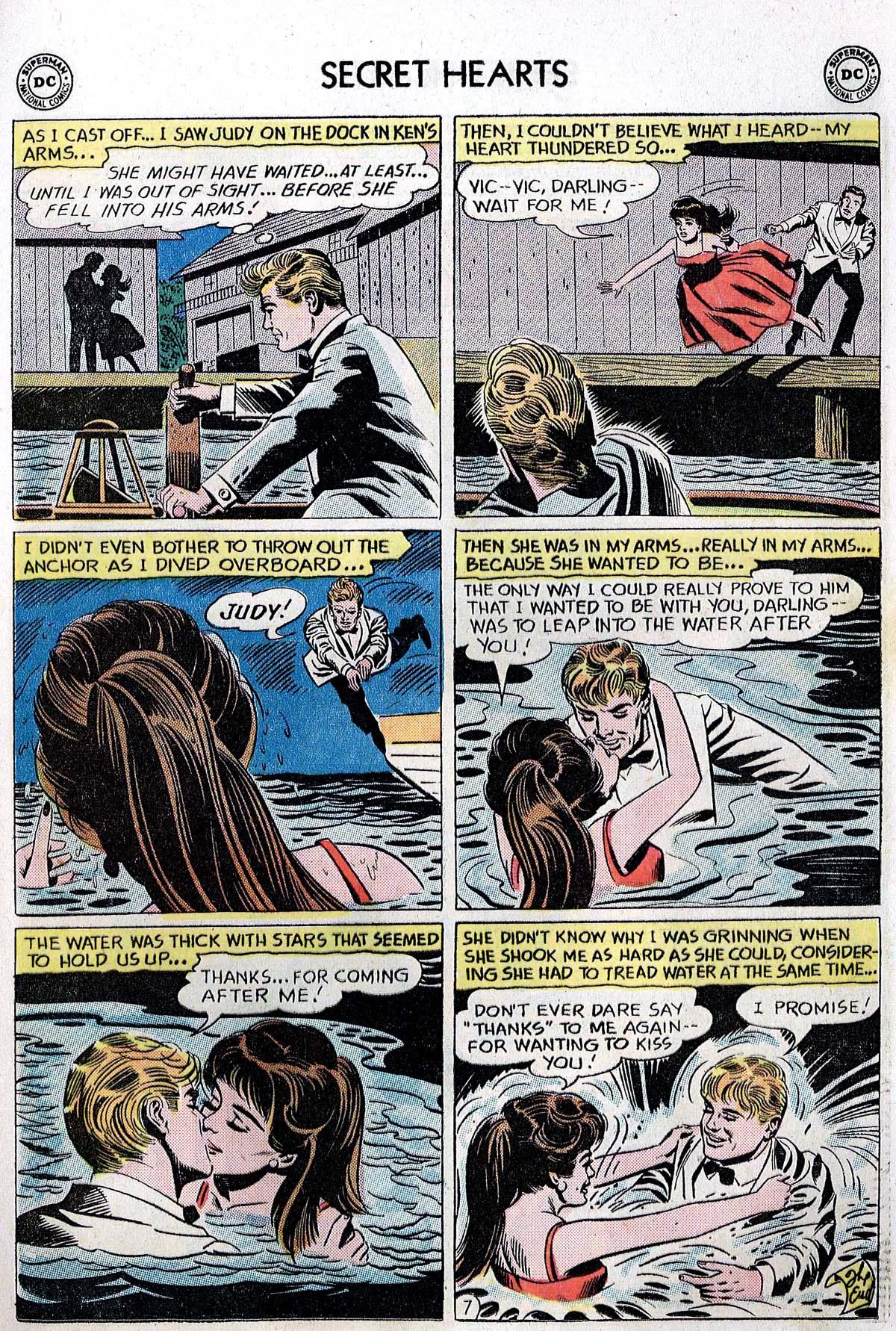 Read online Secret Hearts comic -  Issue #82 - 9
