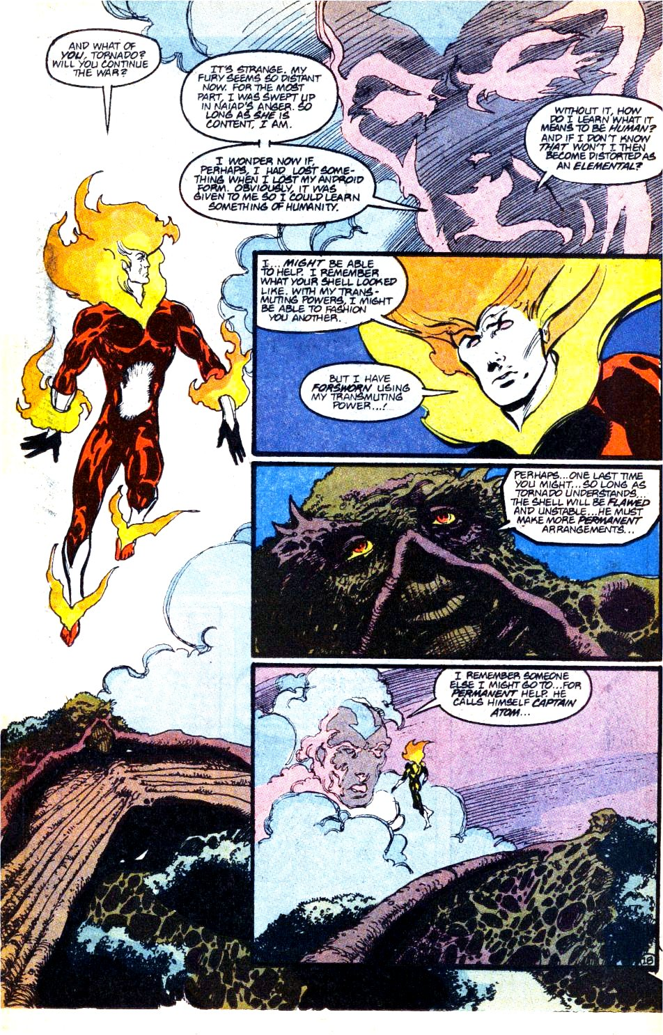 Firestorm, the Nuclear Man Issue #93 #29 - English 19