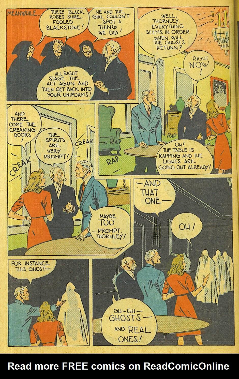 Read online Super-Magician Comics comic -  Issue #39 - 47