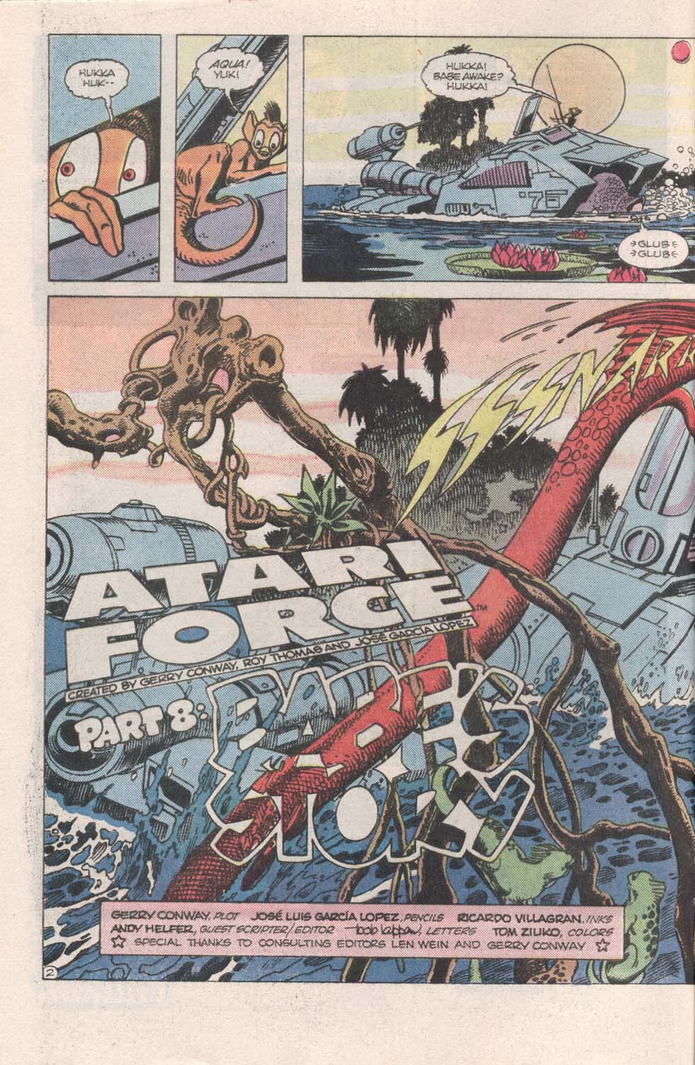 Read online Atari Force (1984) comic -  Issue #8 - 3