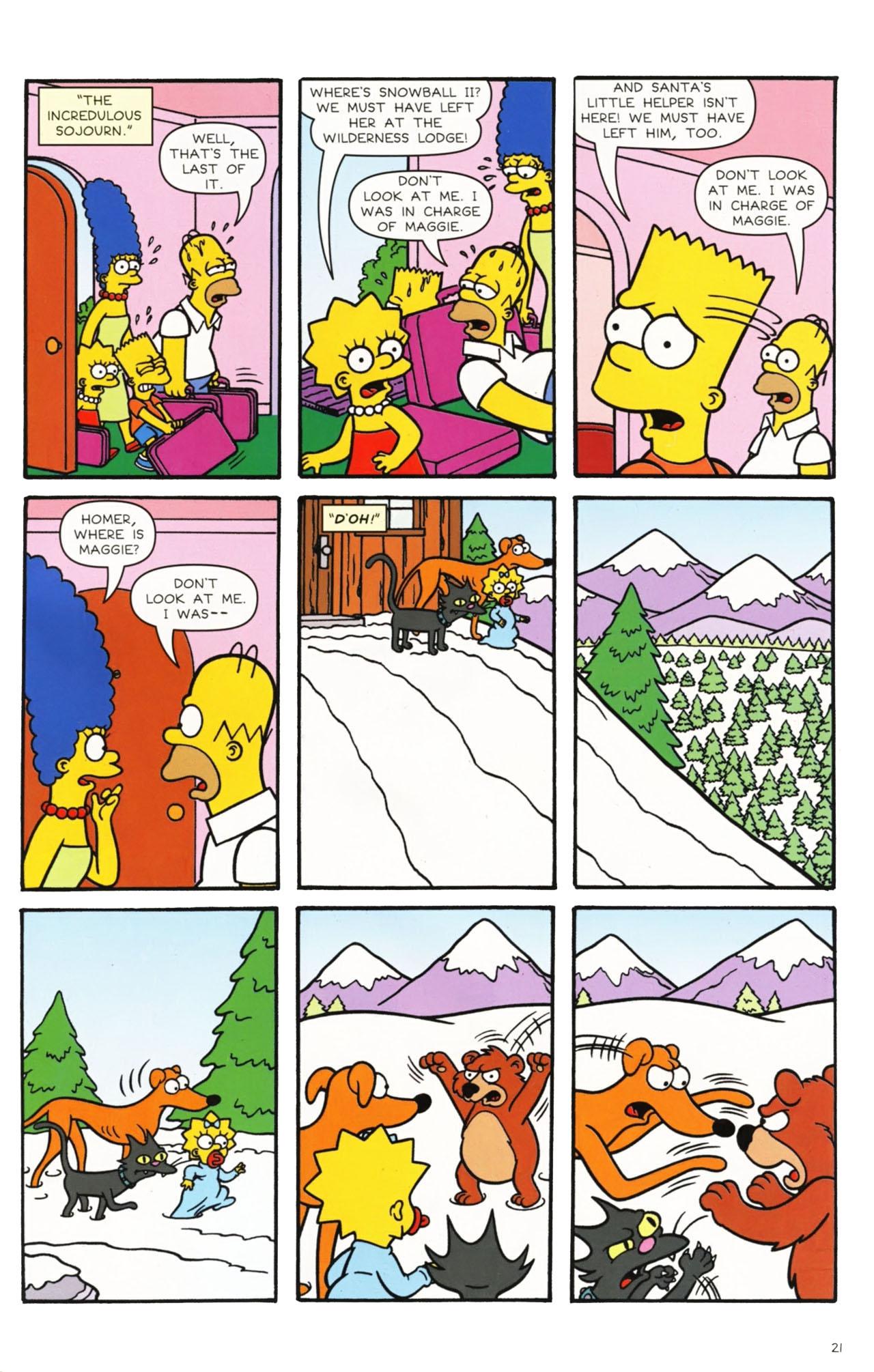 Read online Simpsons Comics comic -  Issue #160 - 19
