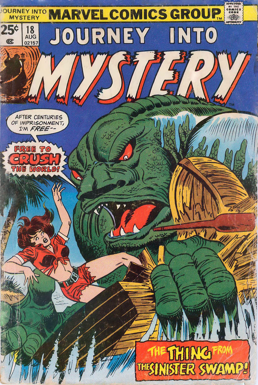 Journey Into Mystery (1972) issue 18 - Page 1