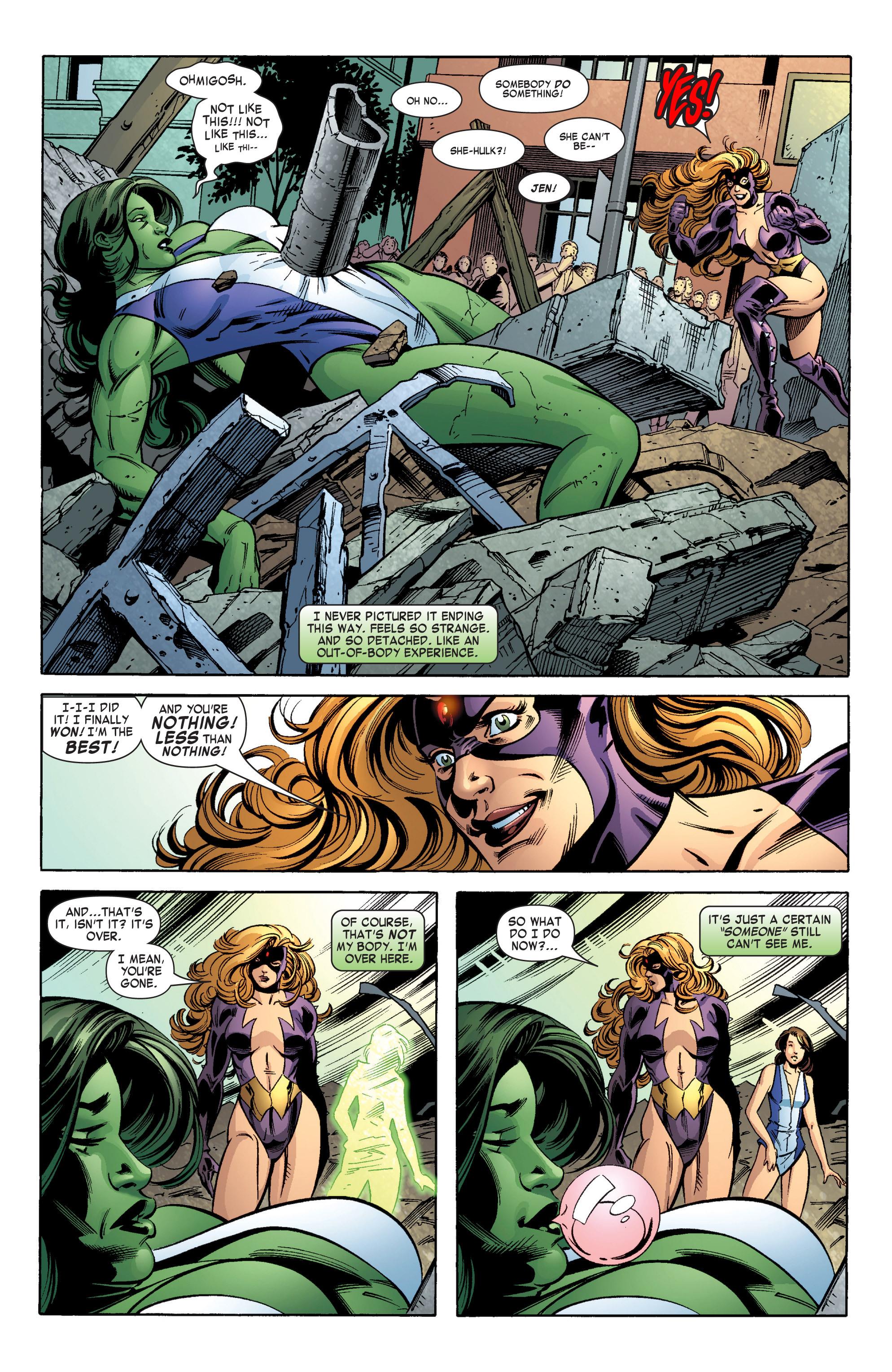 Read online She-Hulk (2004) comic -  Issue #12 - 19