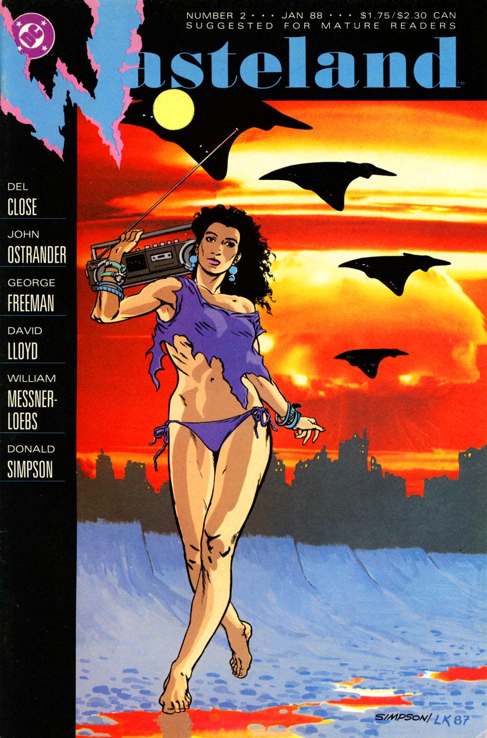 Wasteland (1987) 2 Page 1