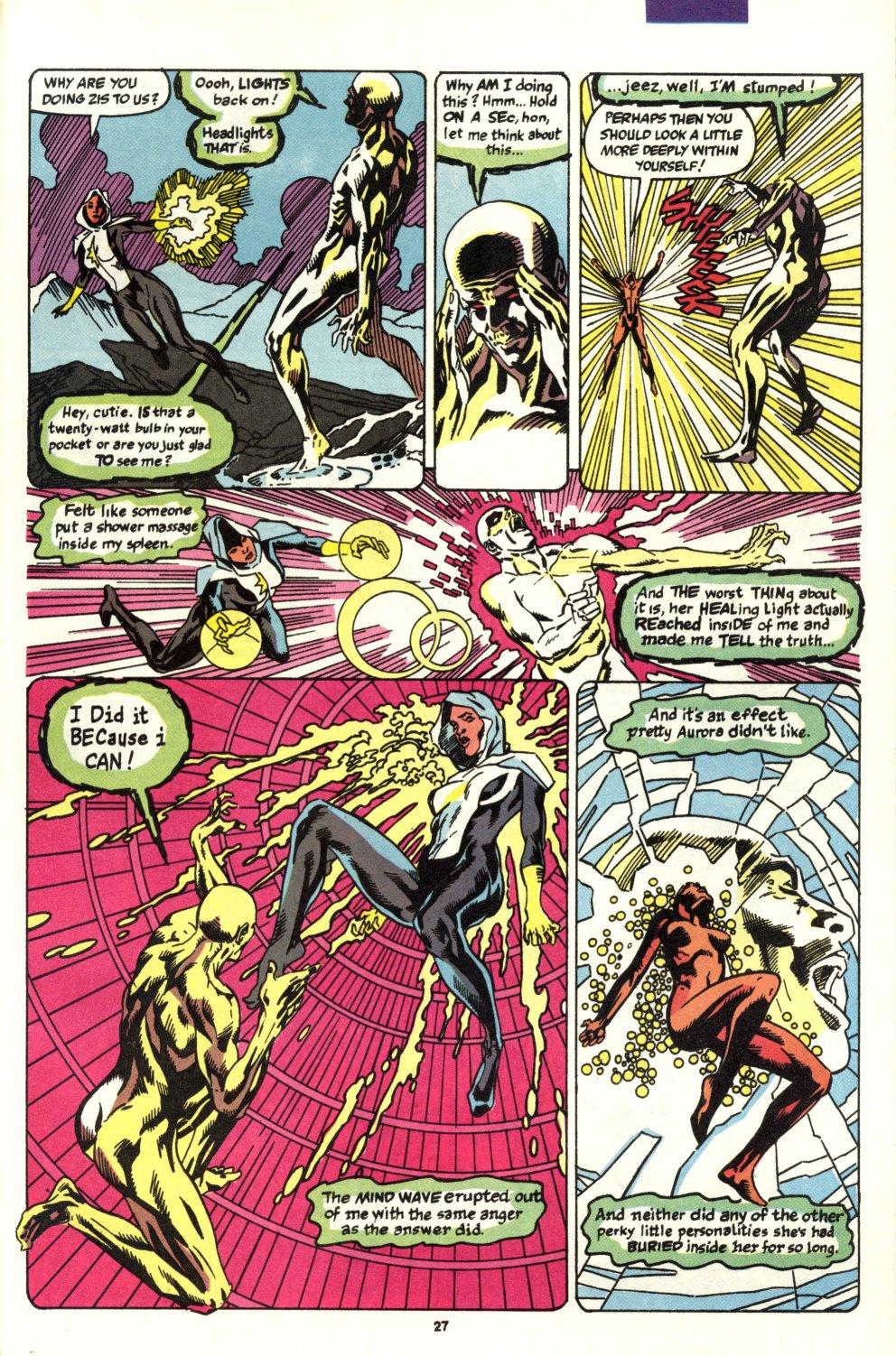 Read online Alpha Flight (1983) comic -  Issue #93 - 22