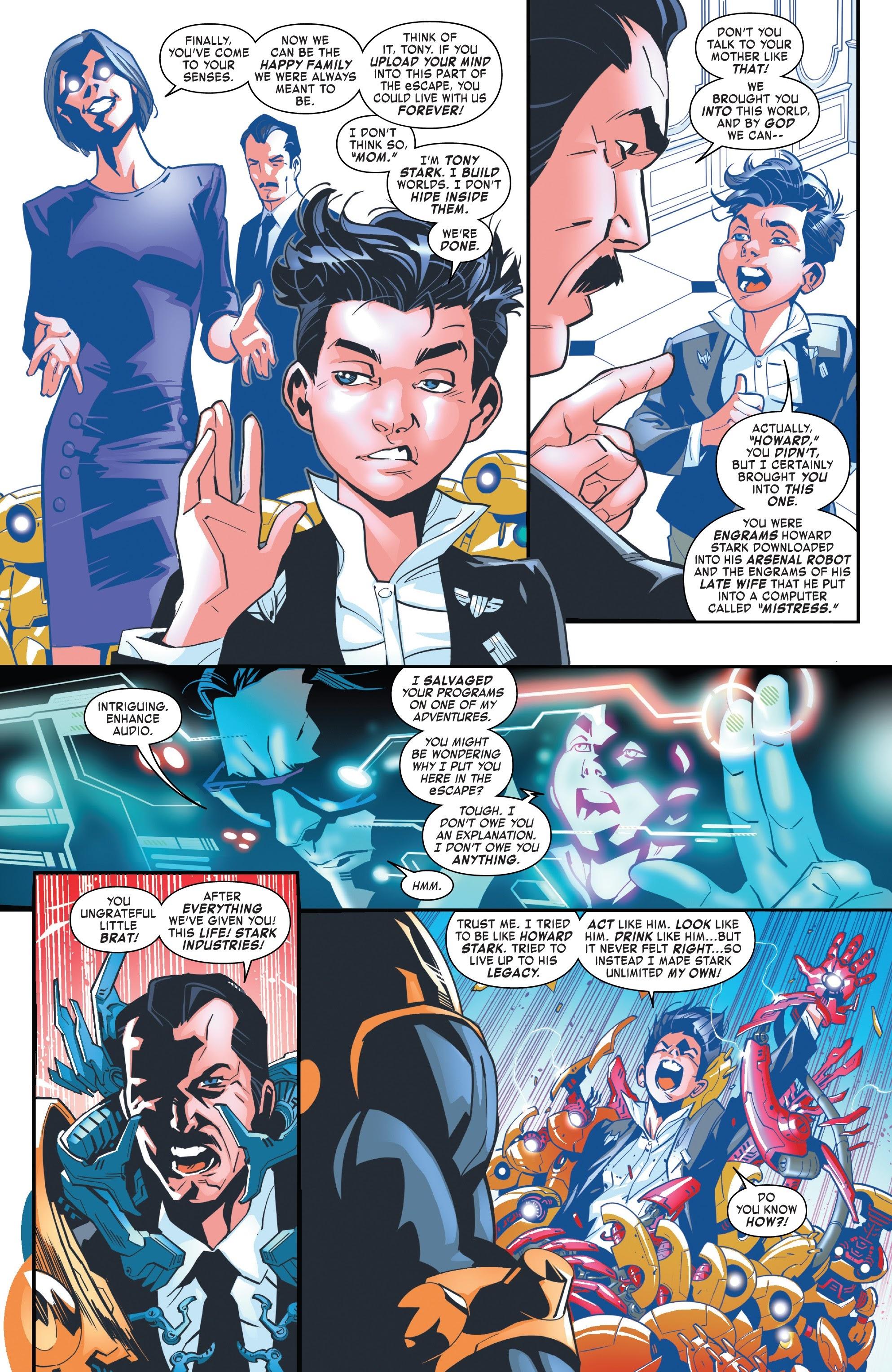 Read online Tony Stark: Iron Man comic -  Issue #10 - 16