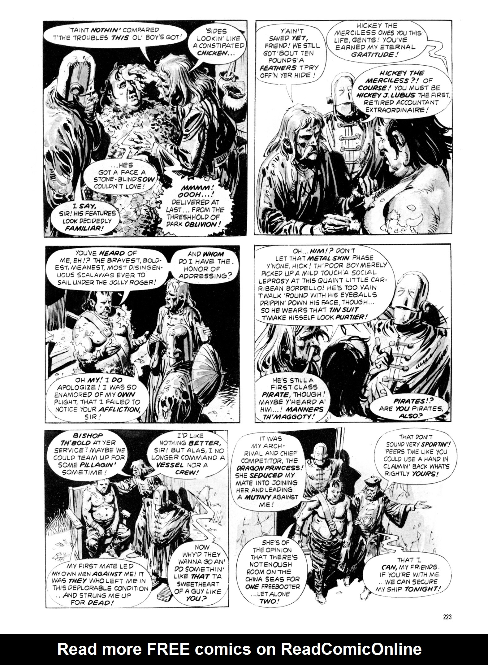 Read online Eerie Archives comic -  Issue # TPB 20 - 223