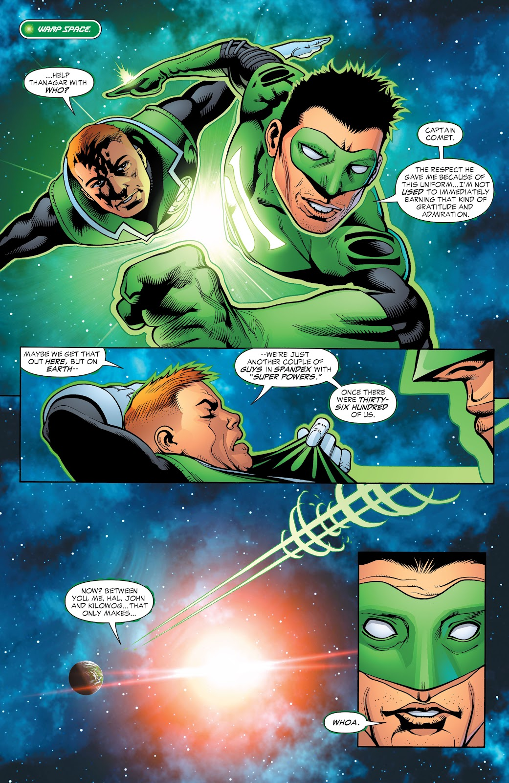 Read online Green Lantern by Geoff Johns comic -  Issue # TPB 1 (Part 2) - 92