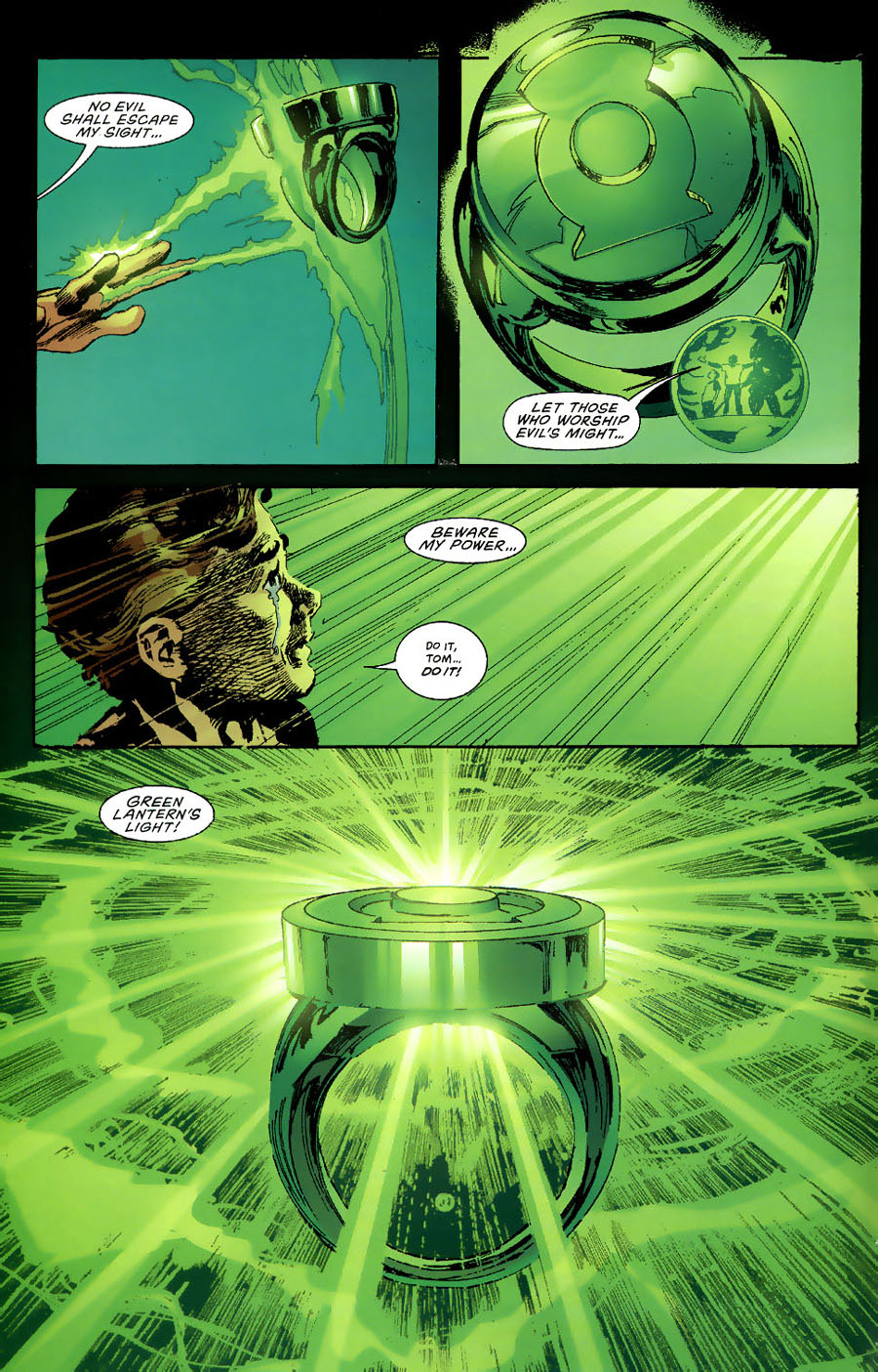 Read online Green Lantern: Legacy: The Last Will and Testament of Hal Jordan comic -  Issue # TPB - 105