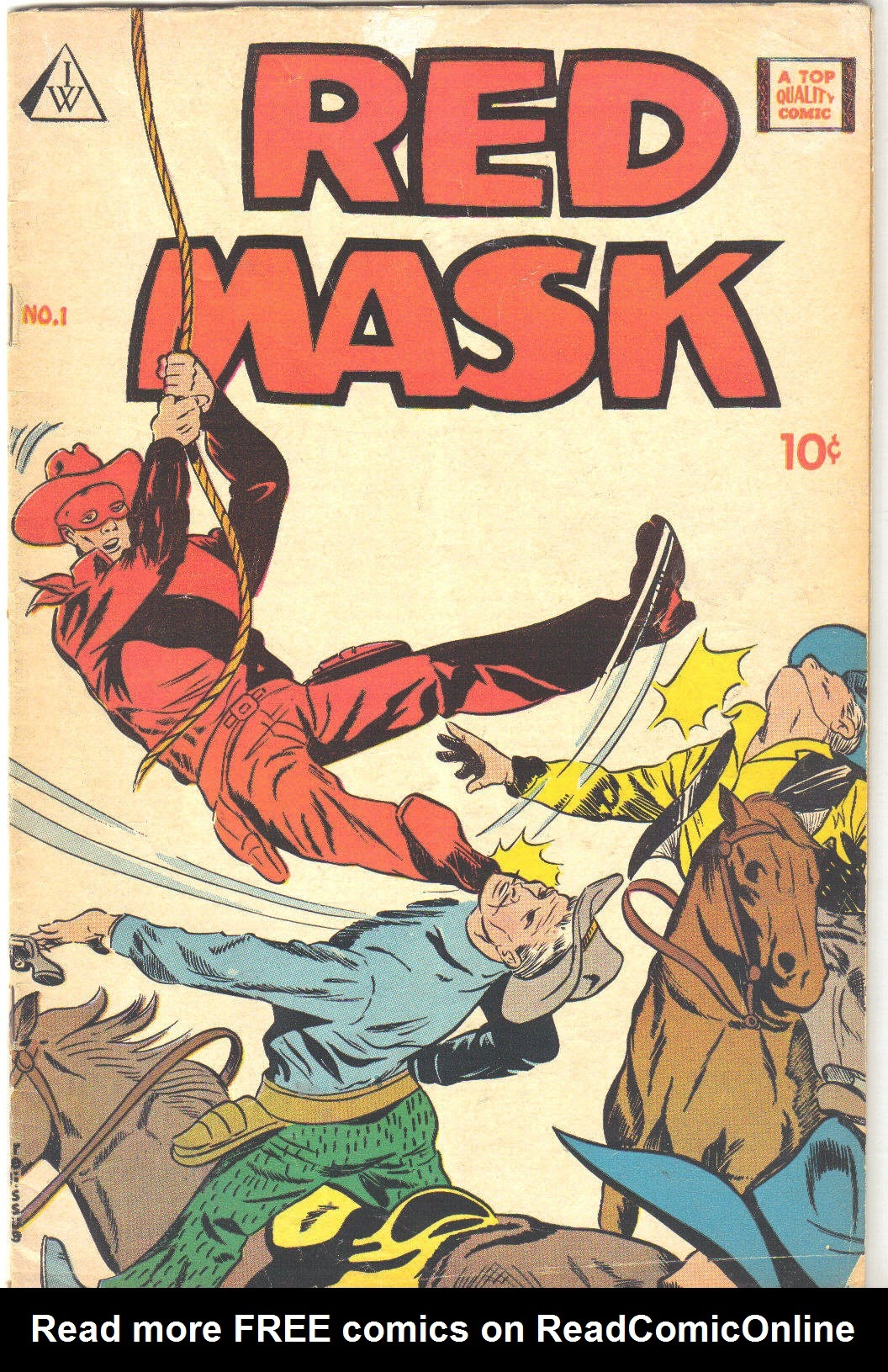 Red Mask (1958) 1 Page 1