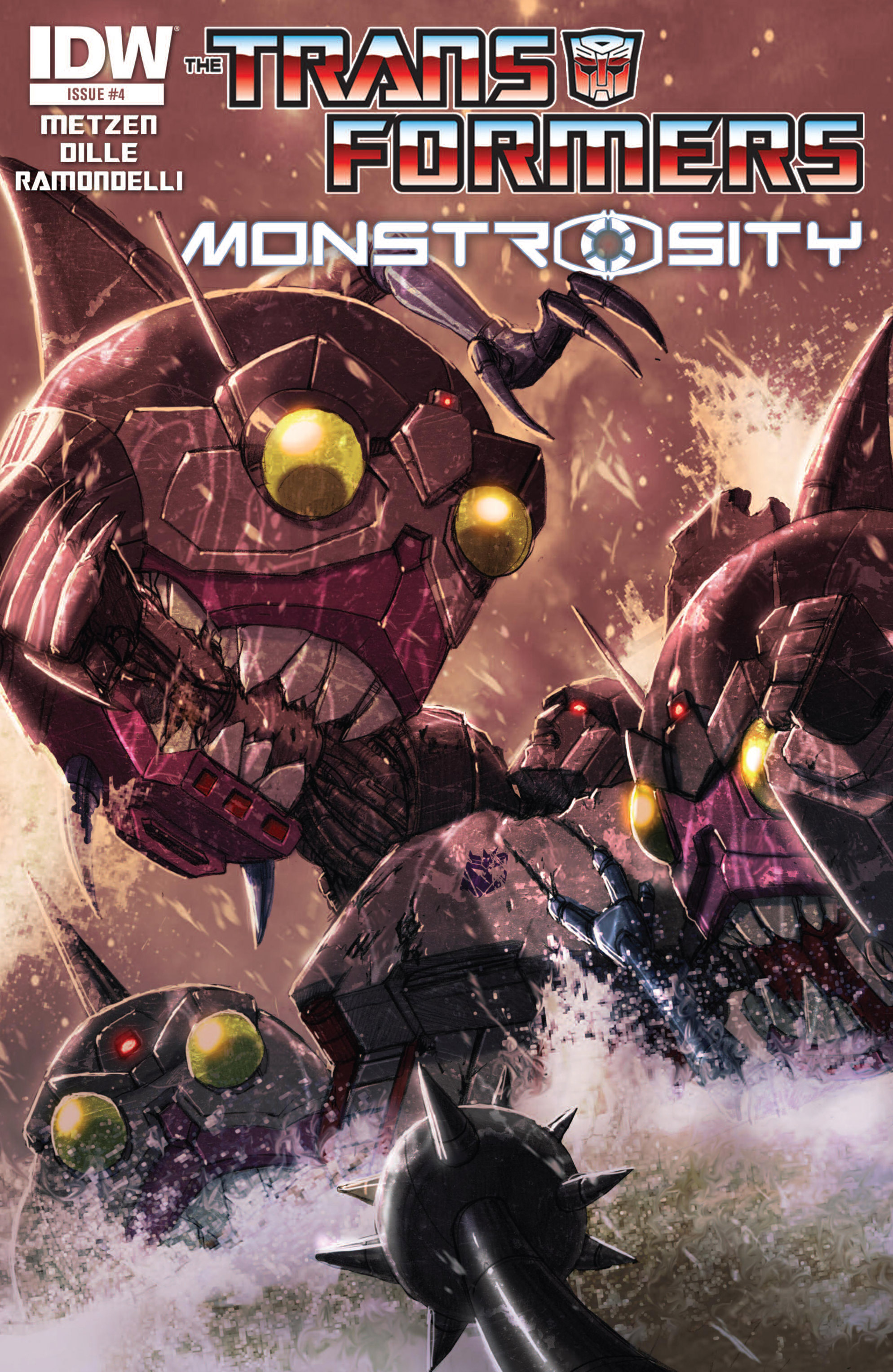 The Transformers: Monstrosity 4 Page 1