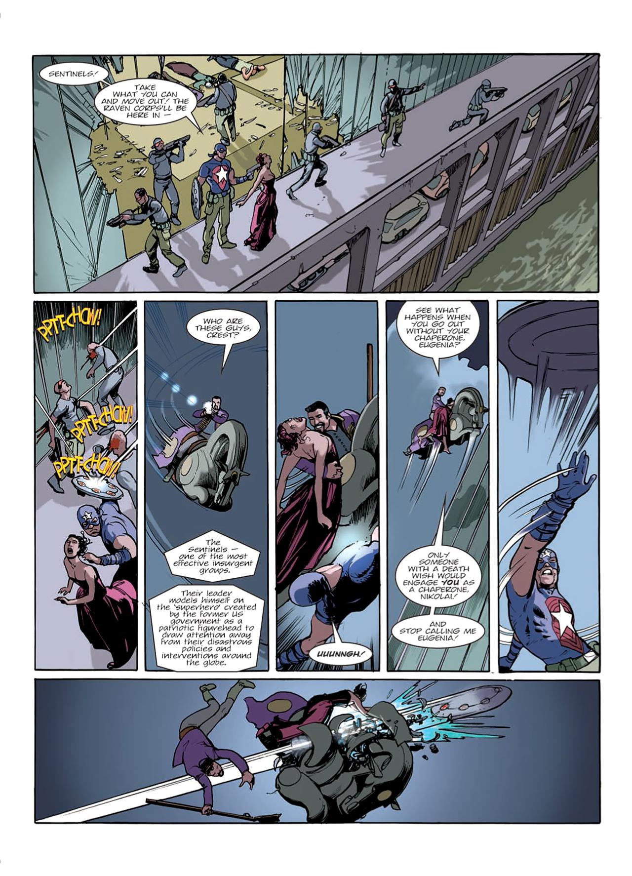 Read online Nikolai Dante comic -  Issue # TPB 9 - 26