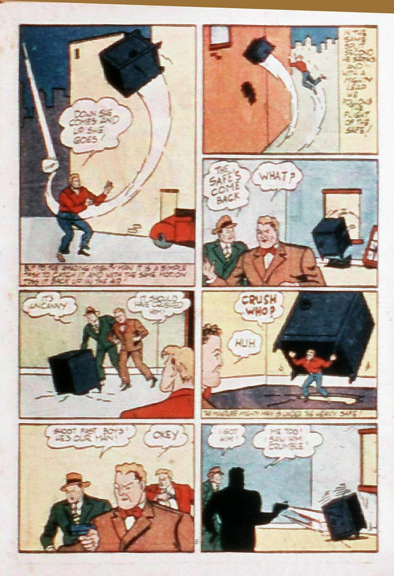 Read online Amazing Man Comics comic -  Issue #20 - 34