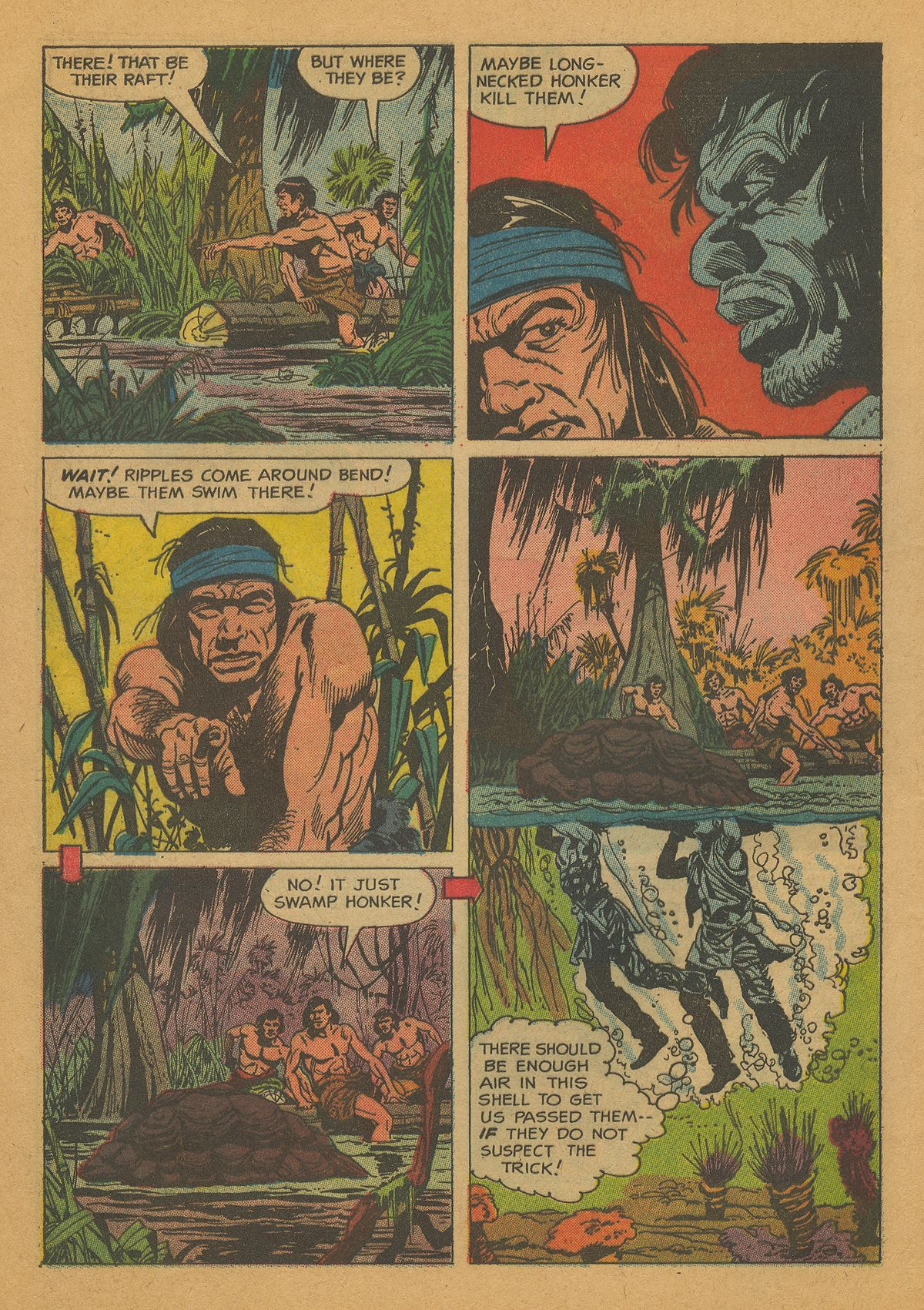 Read online Turok, Son of Stone comic -  Issue #26 - 31