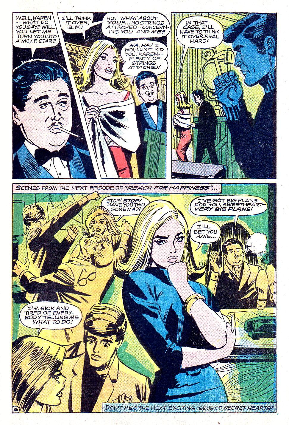 Read online Secret Hearts comic -  Issue #131 - 33