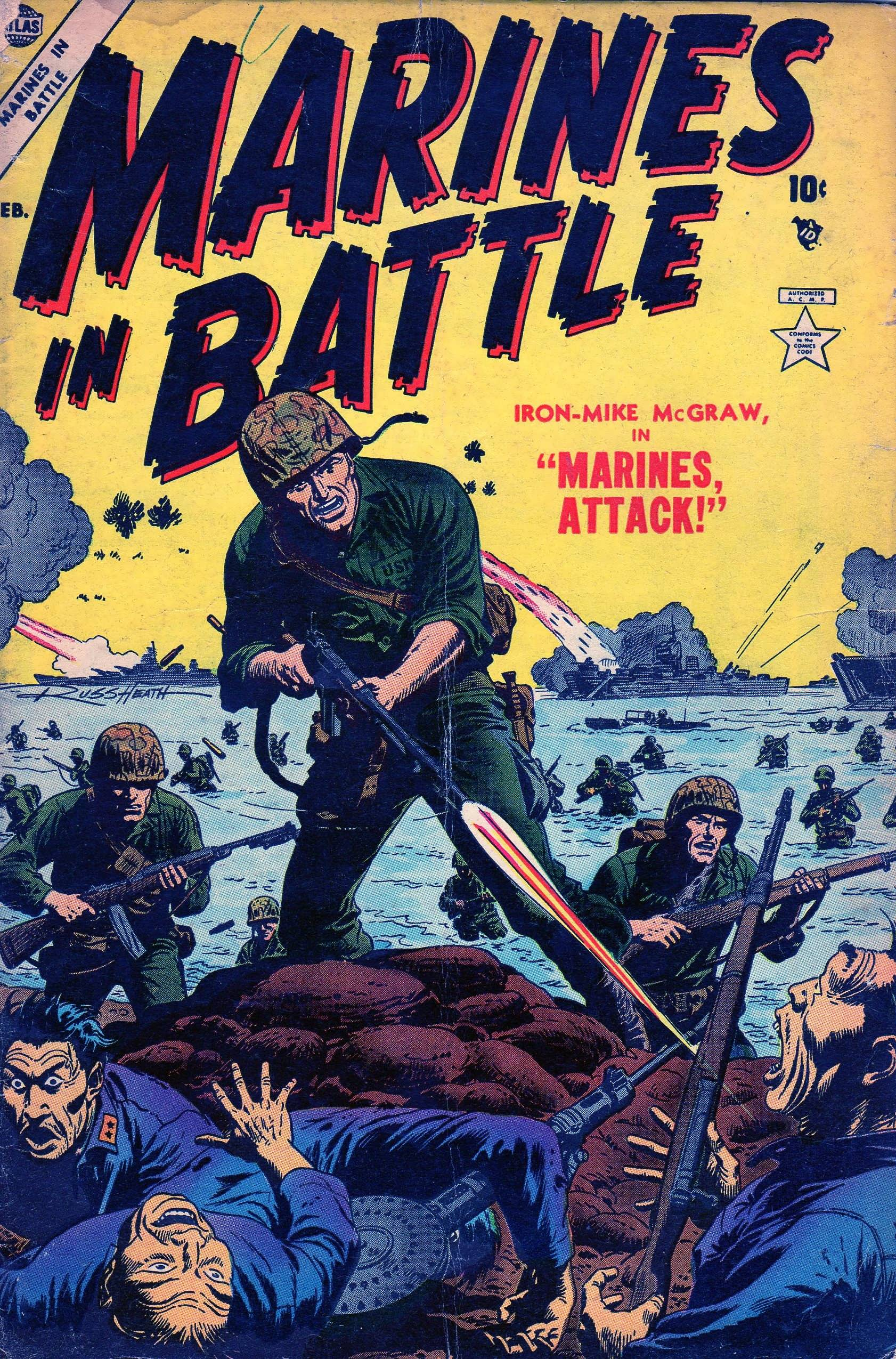 Marines in Battle 4 Page 1