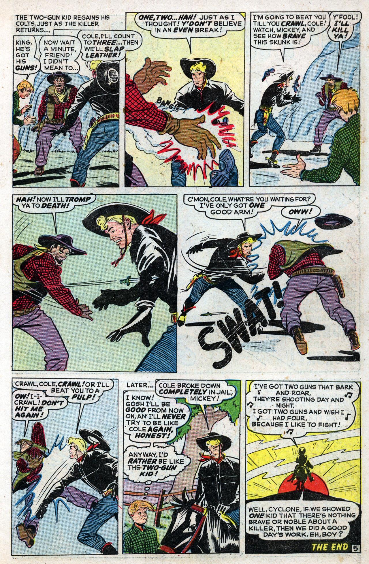 Read online Two-Gun Kid comic -  Issue #3 - 7