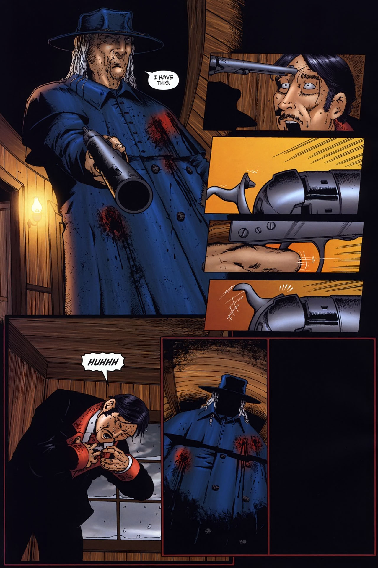 Read online Garth Ennis' Streets of Glory comic -  Issue #6 - 26