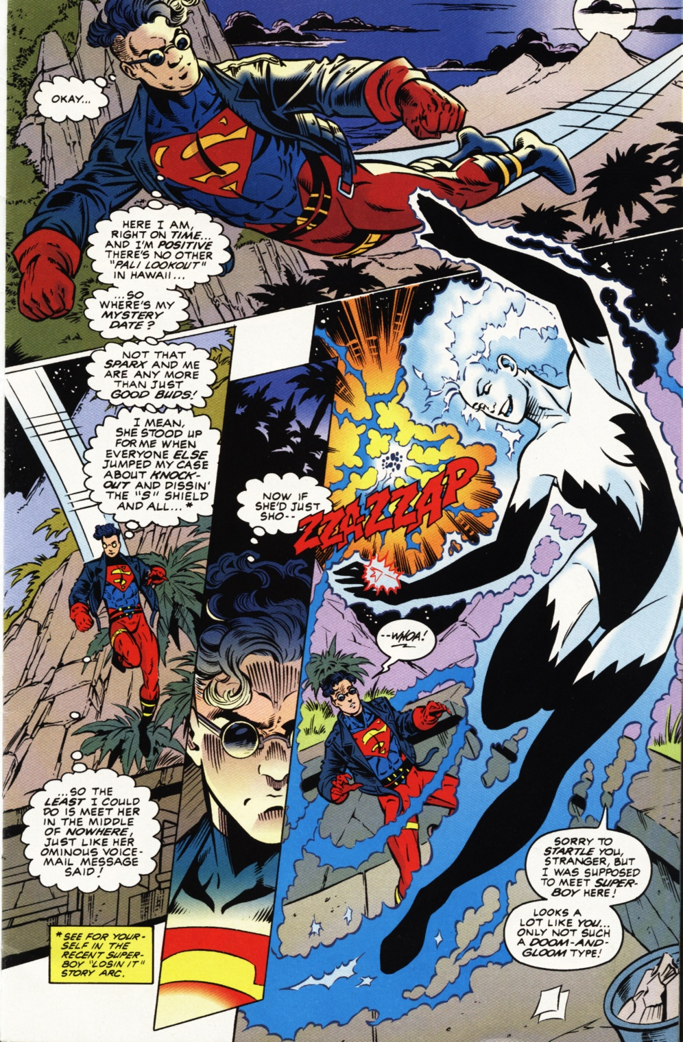 Read online Superboy & The Ravers comic -  Issue #1 - 2