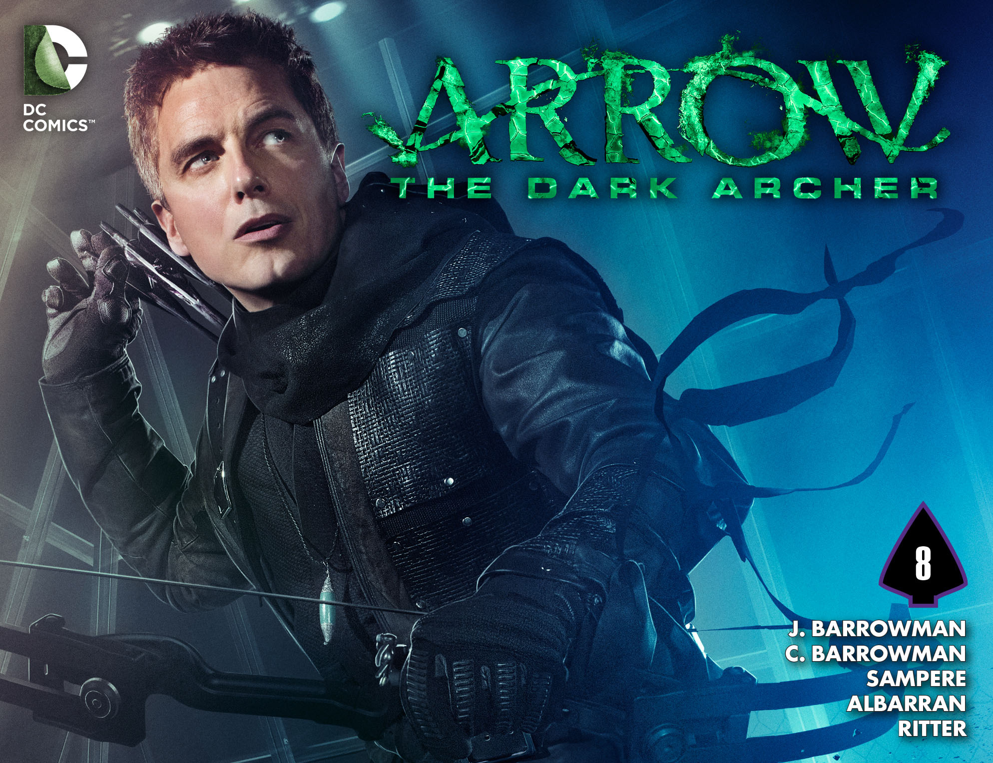 Read online Arrow: The Dark Archer comic -  Issue #8 - 1