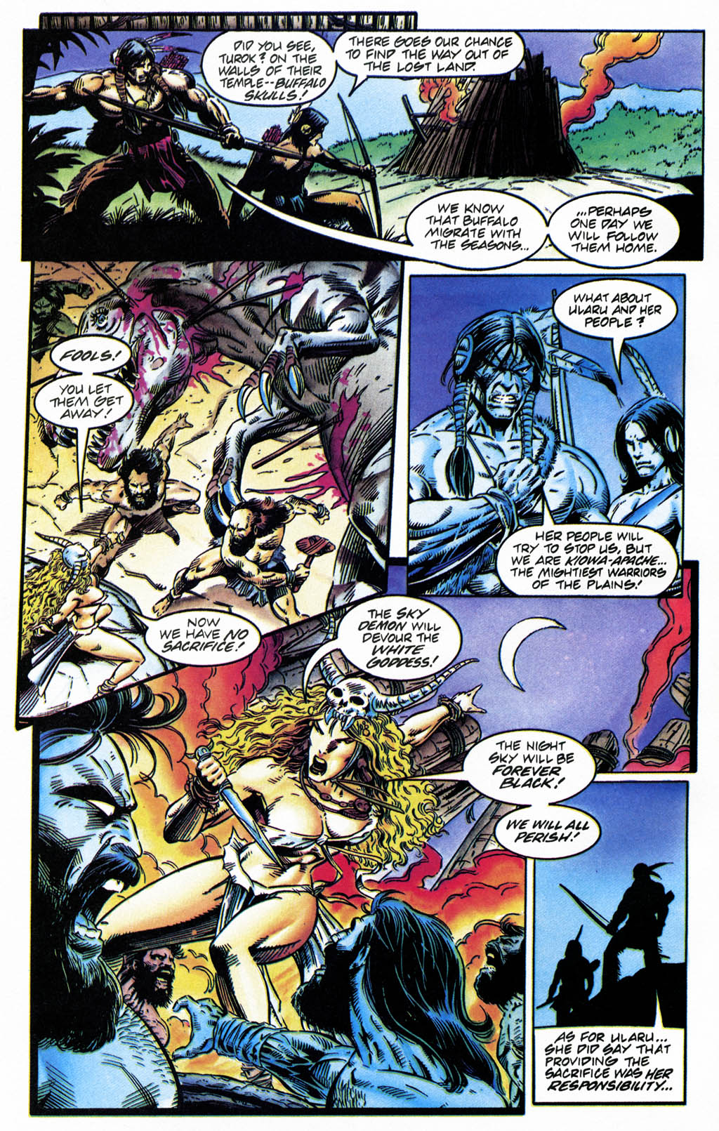 Read online Turok, Dinosaur Hunter (1993) comic -  Issue #35 - 16
