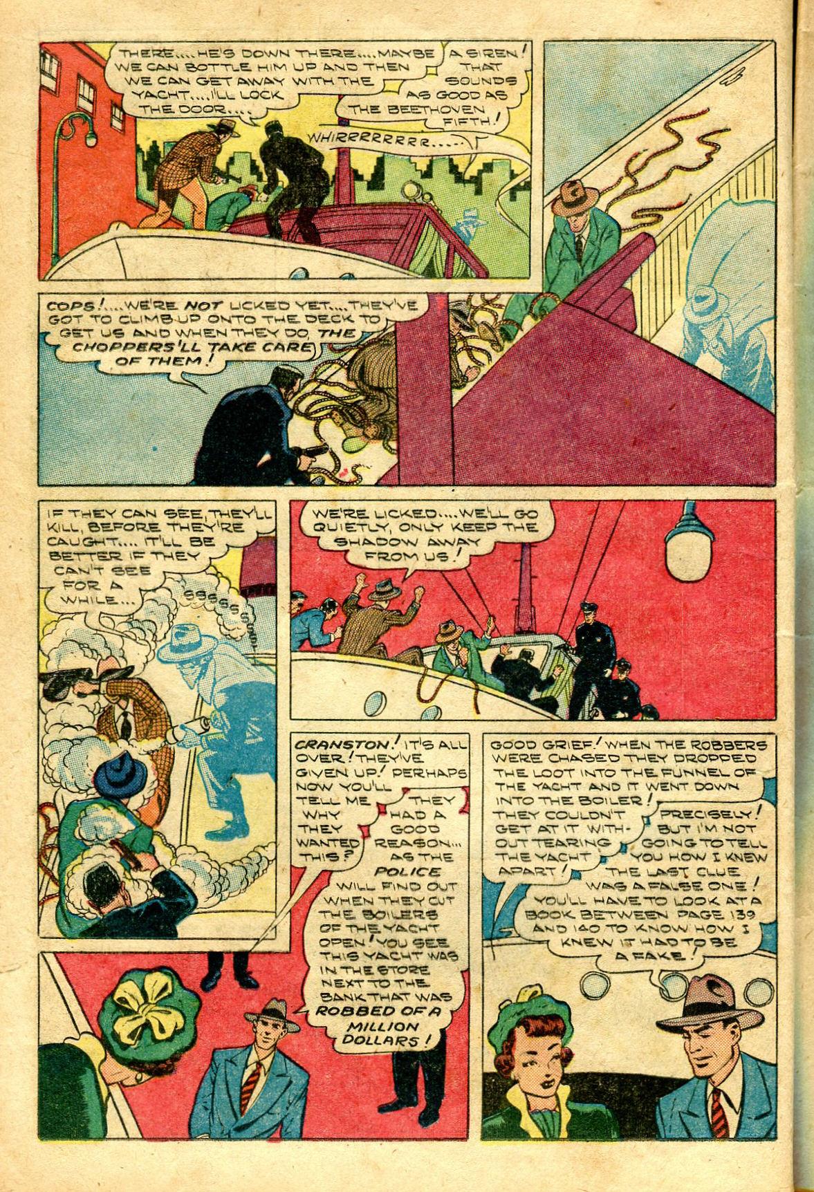 Read online Shadow Comics comic -  Issue #96 - 16
