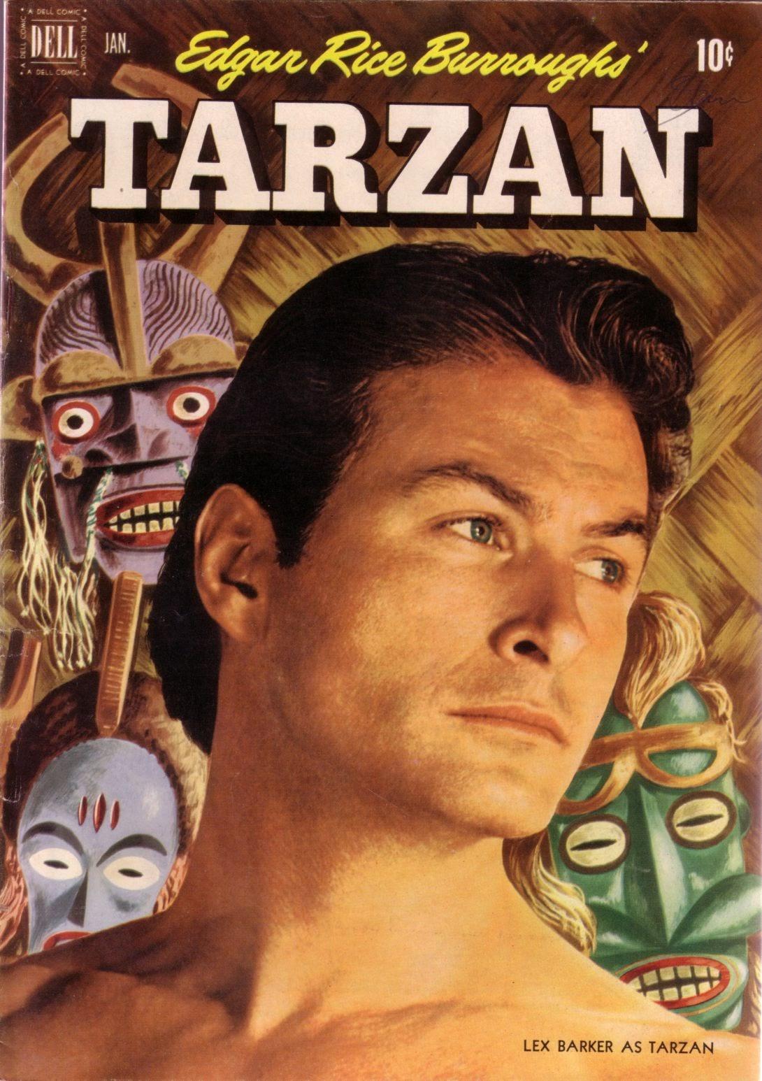 Tarzan (1948) issue 28 - Page 1