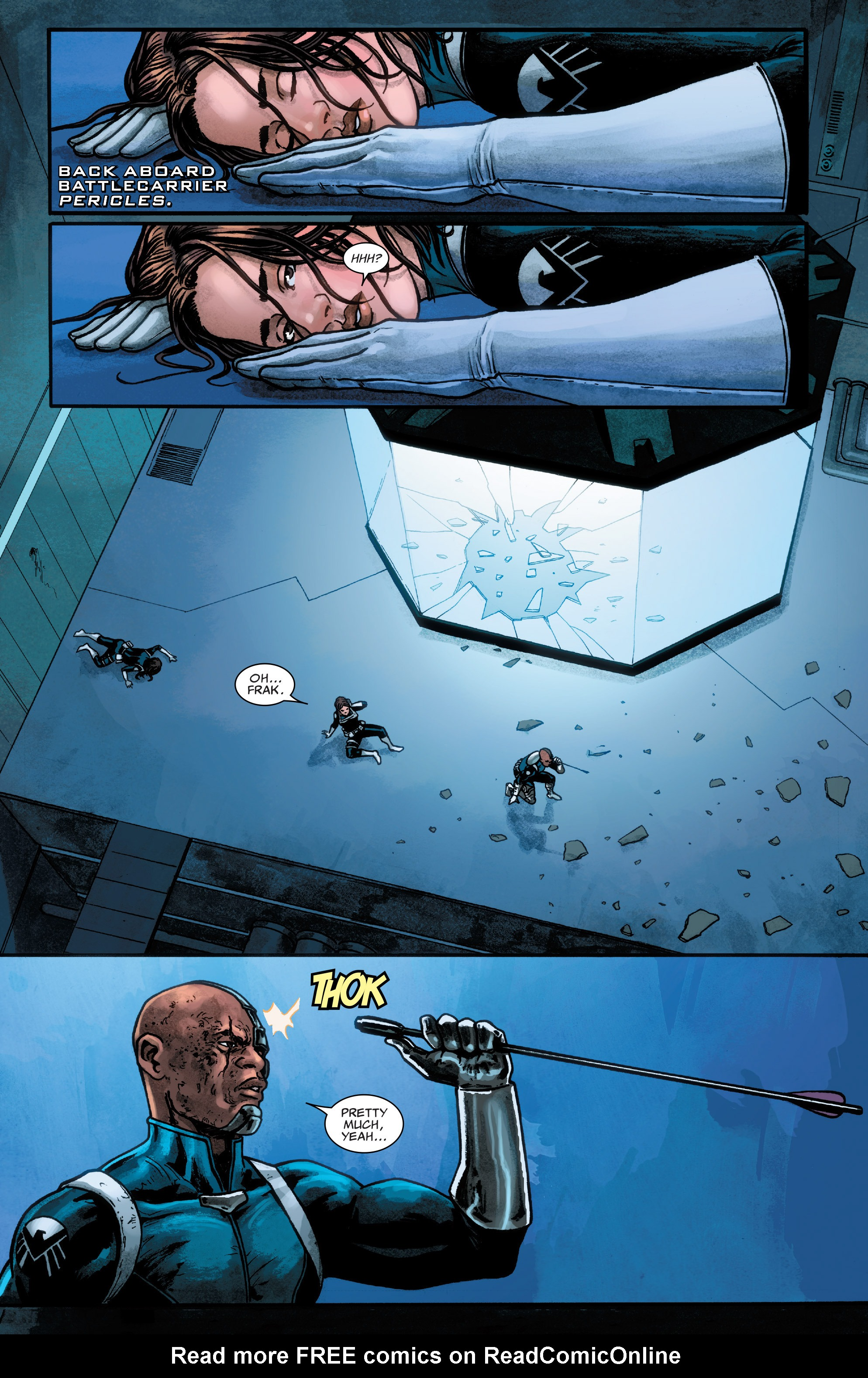 Read online Agents of S.H.I.E.L.D. comic -  Issue #4 - 16