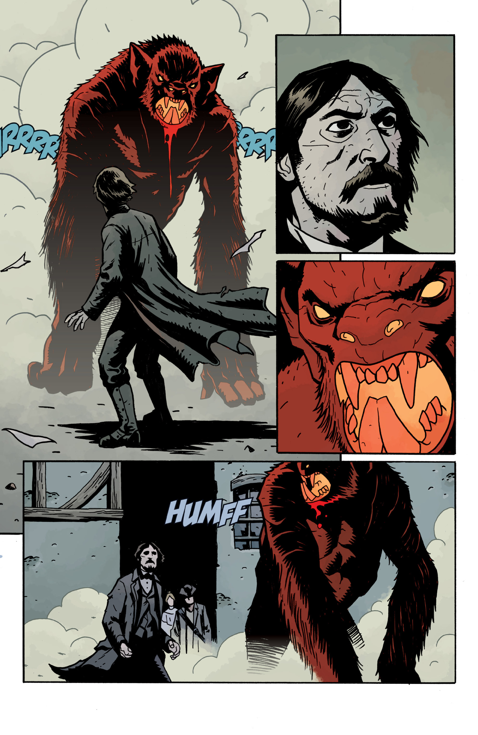 Read online Sir Edward Grey, Witchfinder: In the Service of Angels comic -  Issue # TPB - 88