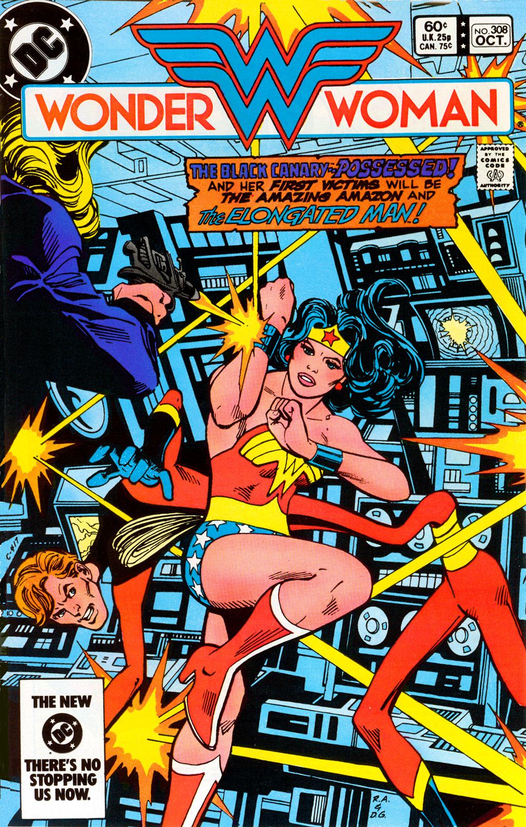 Read online Wonder Woman (1942) comic -  Issue #308 - 1