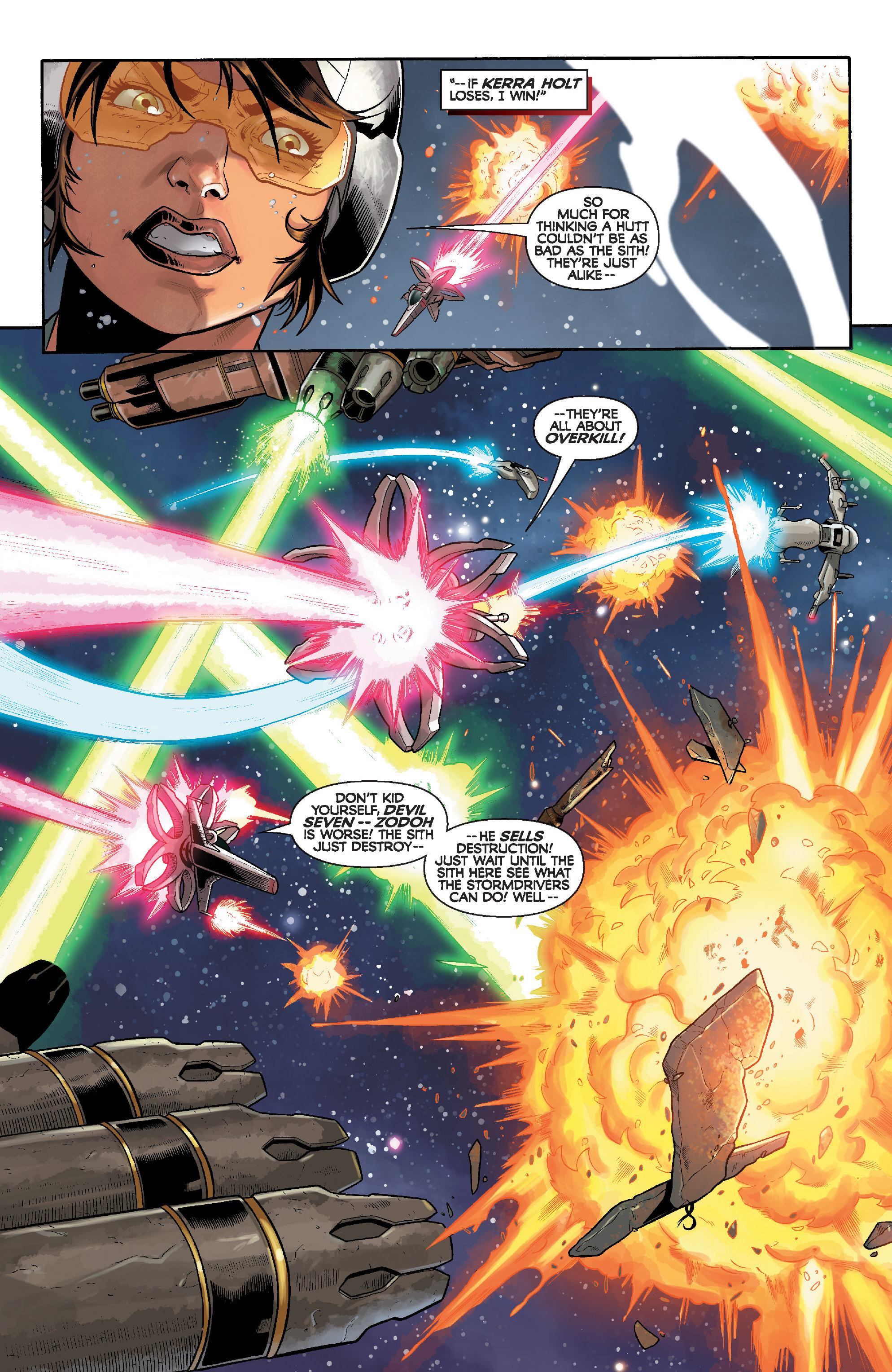 Read online Star Wars: Knight Errant - Deluge comic -  Issue #3 - 4